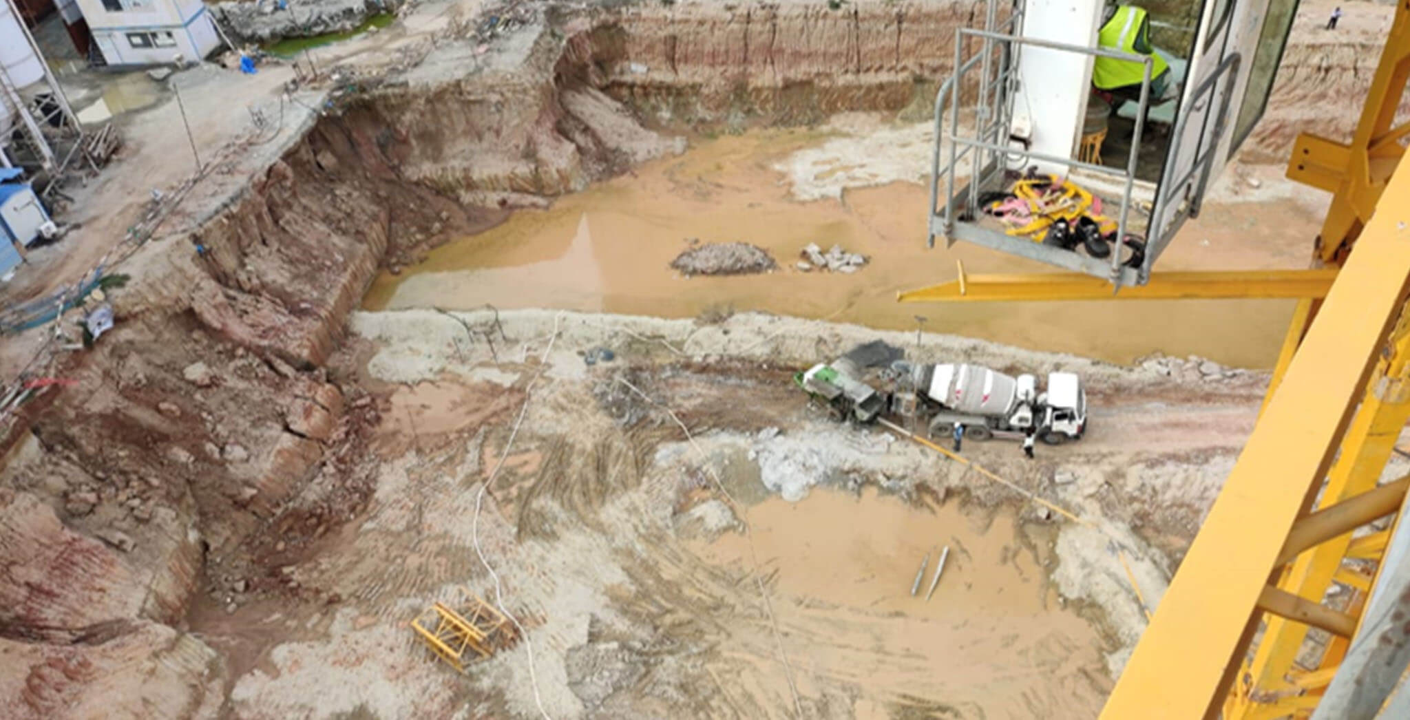 Jul 2020 - Tower A3 and part podium excavation completed