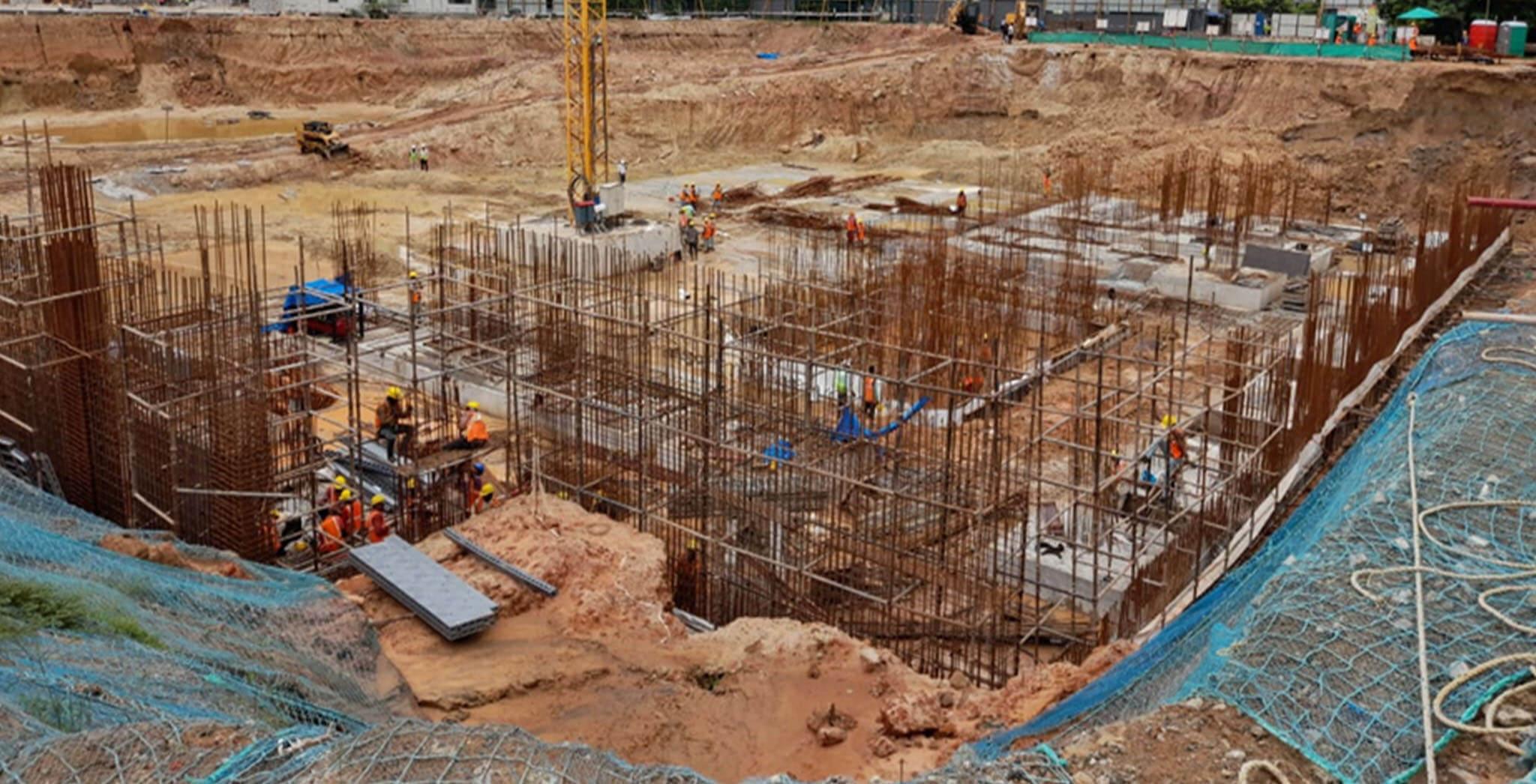 Jul 2020 - Excavation work-in-progress (60,000 Cum completed till now)
