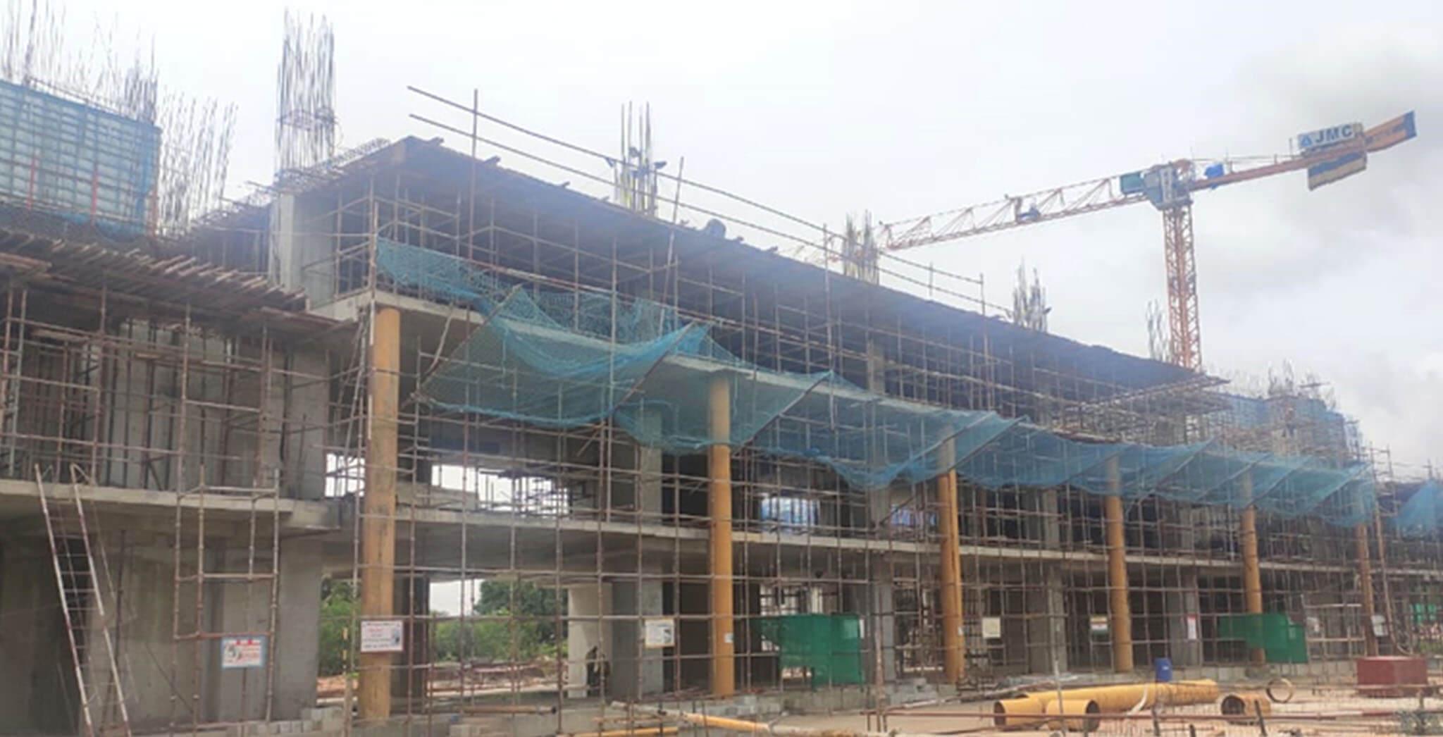 Jul 2020 - Eden: Tower D—3rd floor slab work under progress.