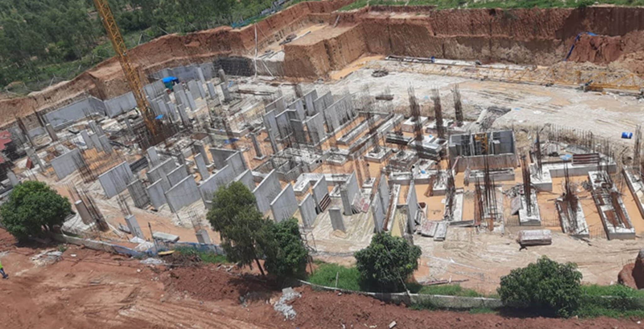 Jul 2020 - Halcyon: Towers I & J—foundation completed