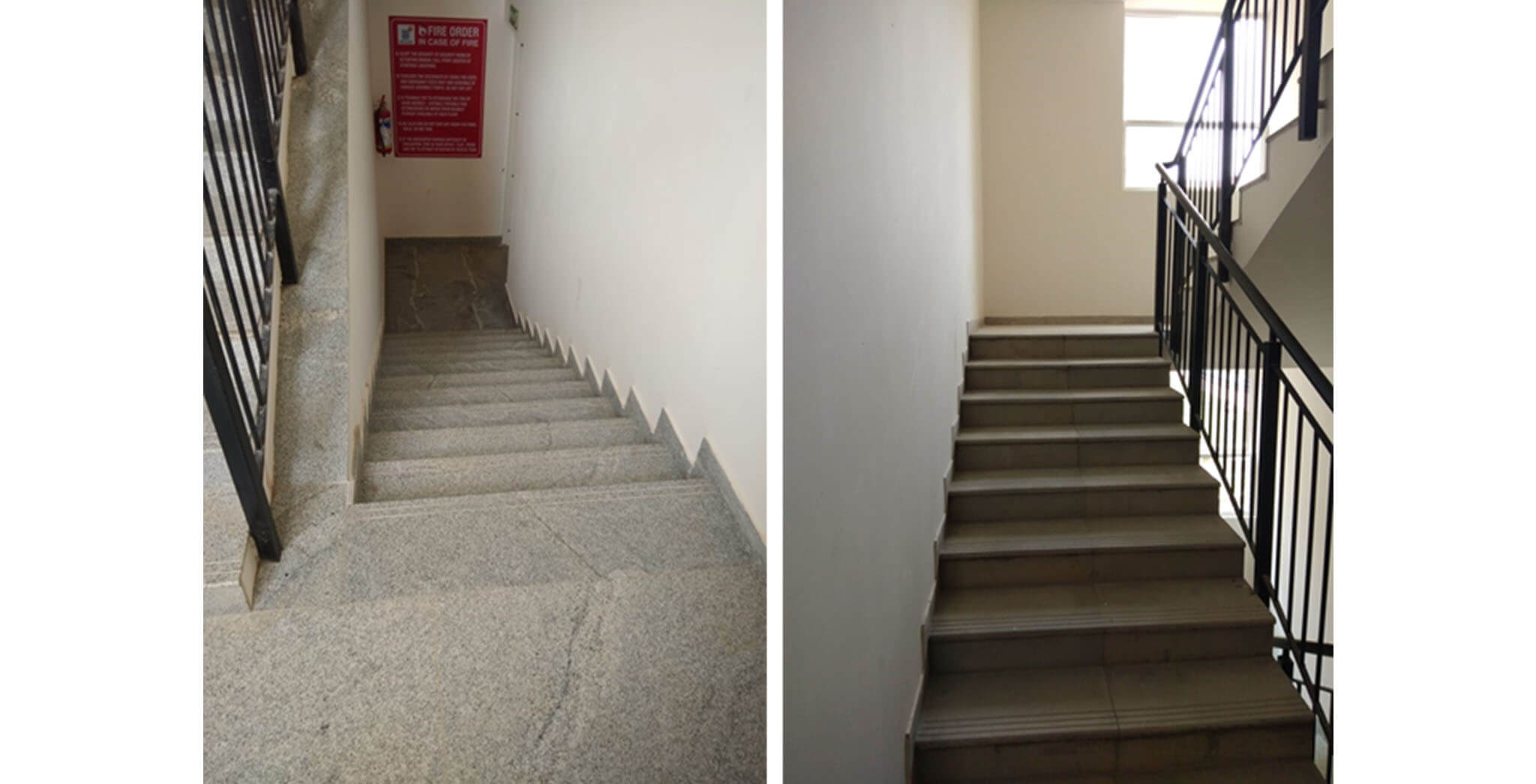 Block A: Staircase