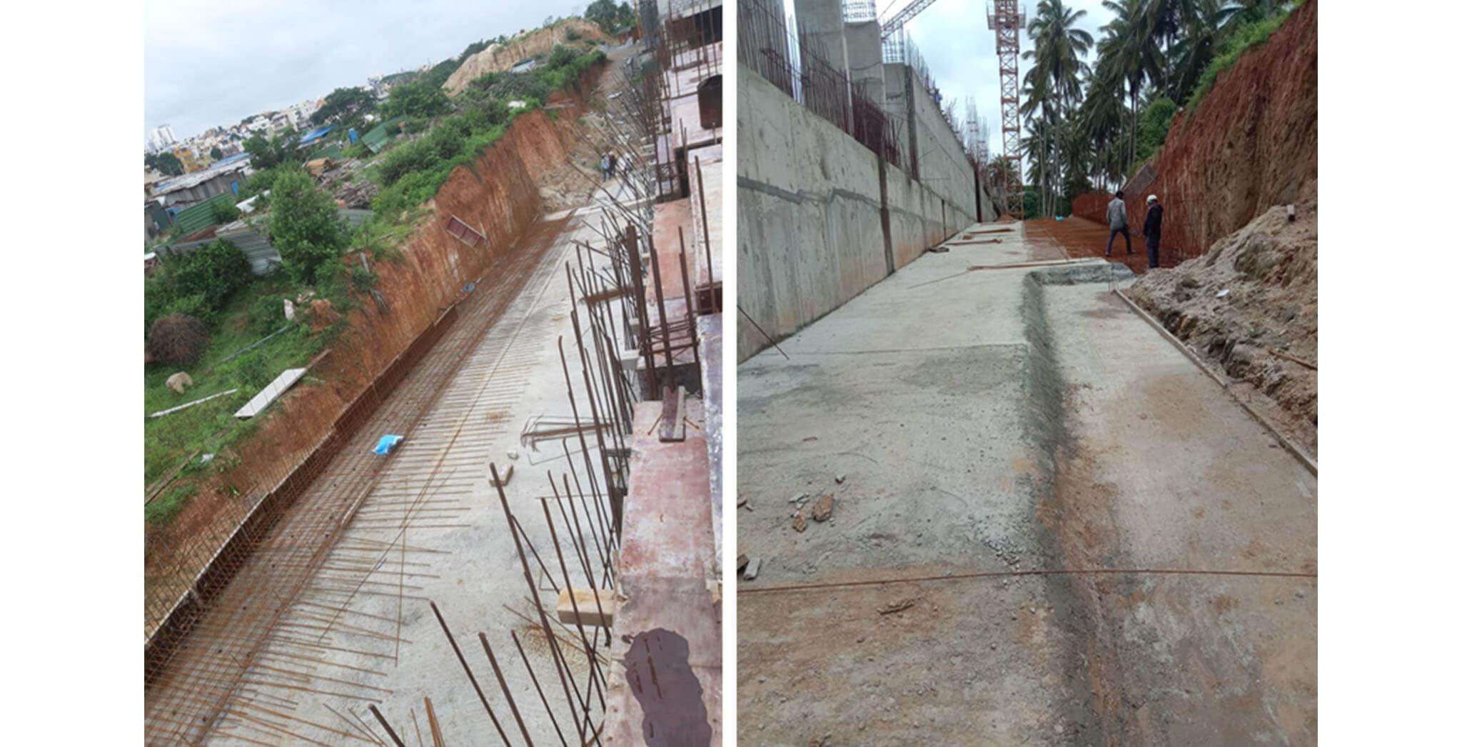 Aug 2020 - South side ramp work-in-progress