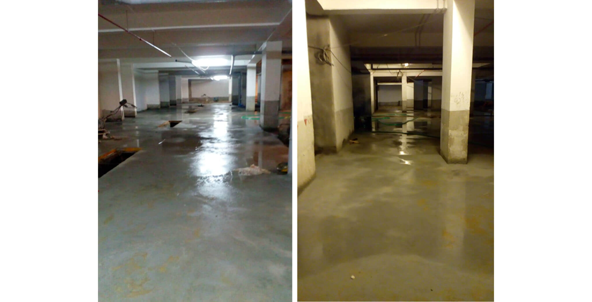 Aug 2020 - Basement flooring work-in-progress