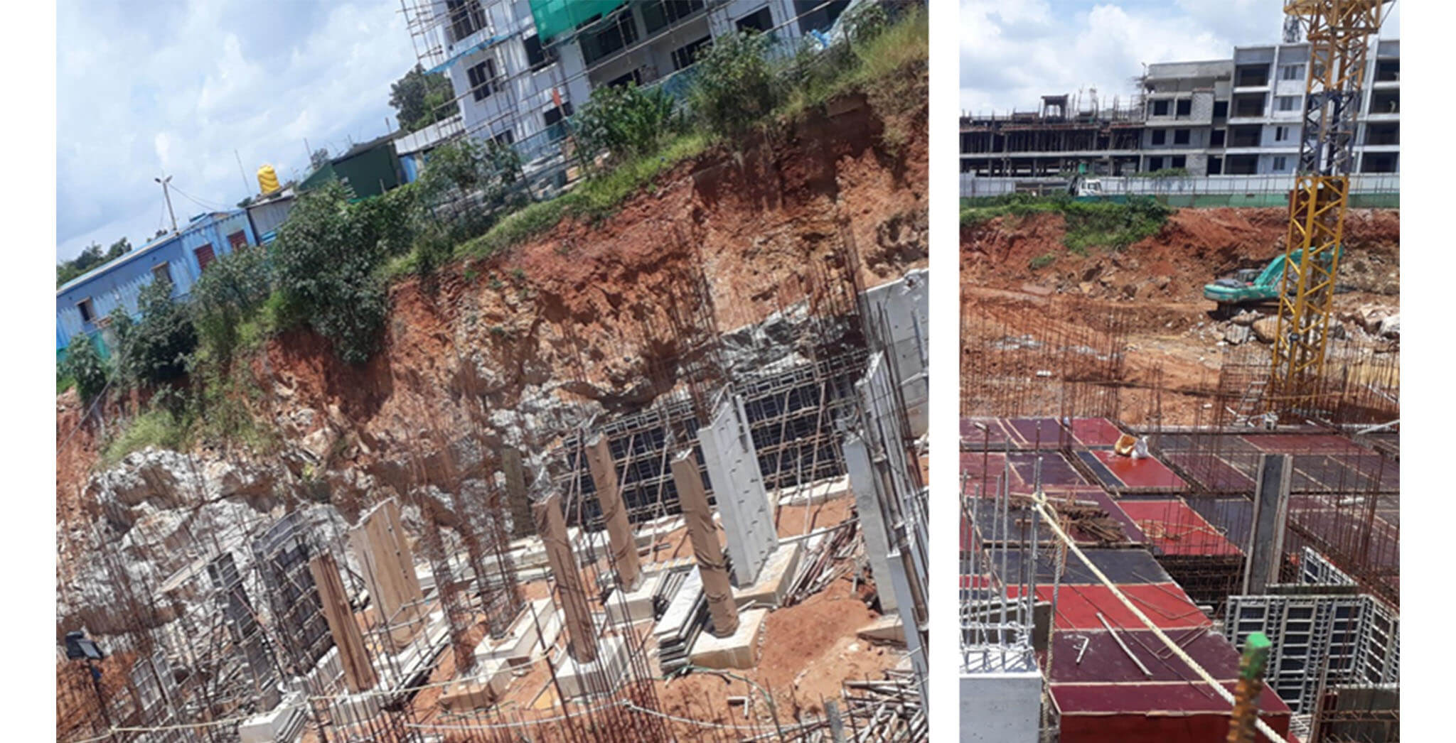 Aug 2020 - D & I Blocks: Basement work-in-progress