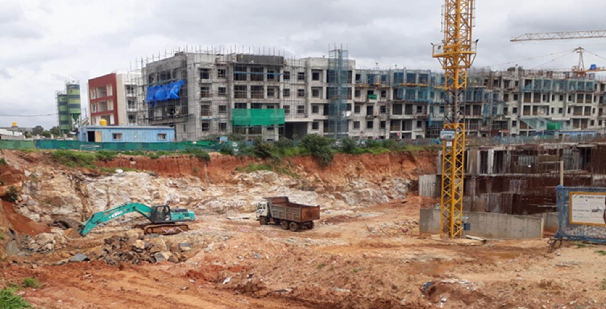 Aug 2020 - C & H Blocks: Excavation work-in-progress