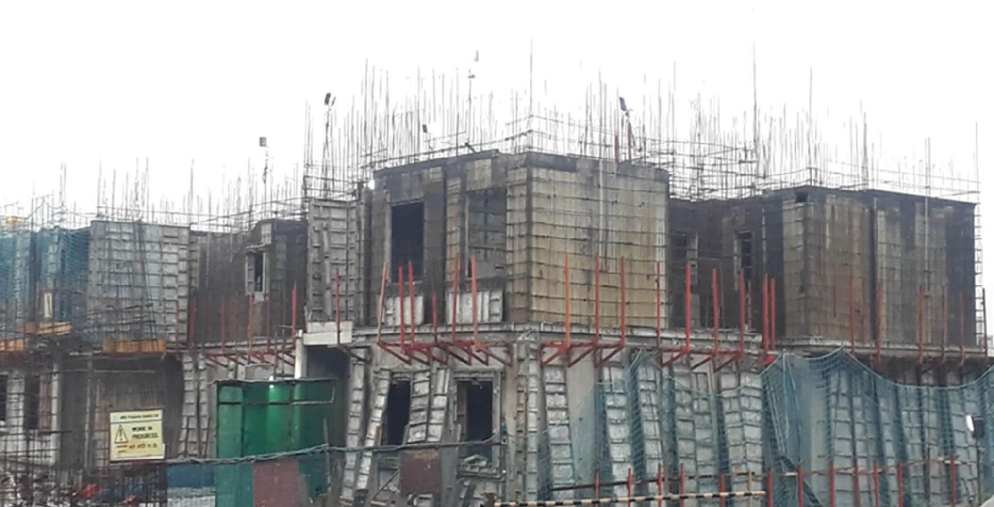 Aug 2020 - A Block: Second floor work-in-progress