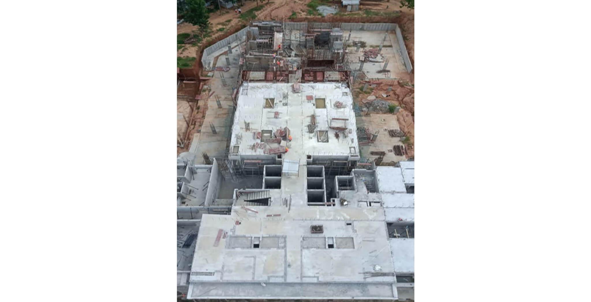 Aug 2020 - Tower B: 2nd floor slab