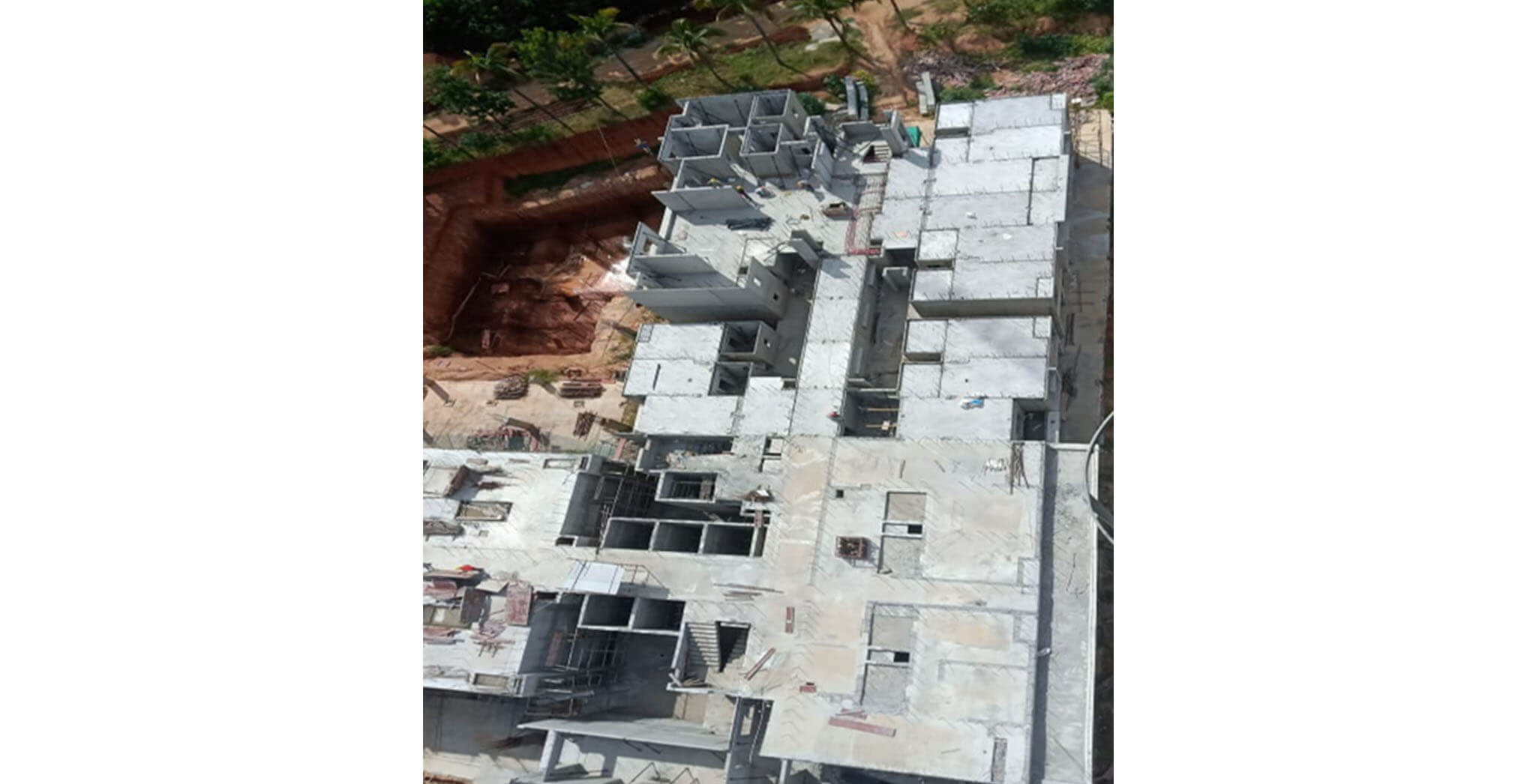 Aug 2020 - Tower C: Precast erection started
