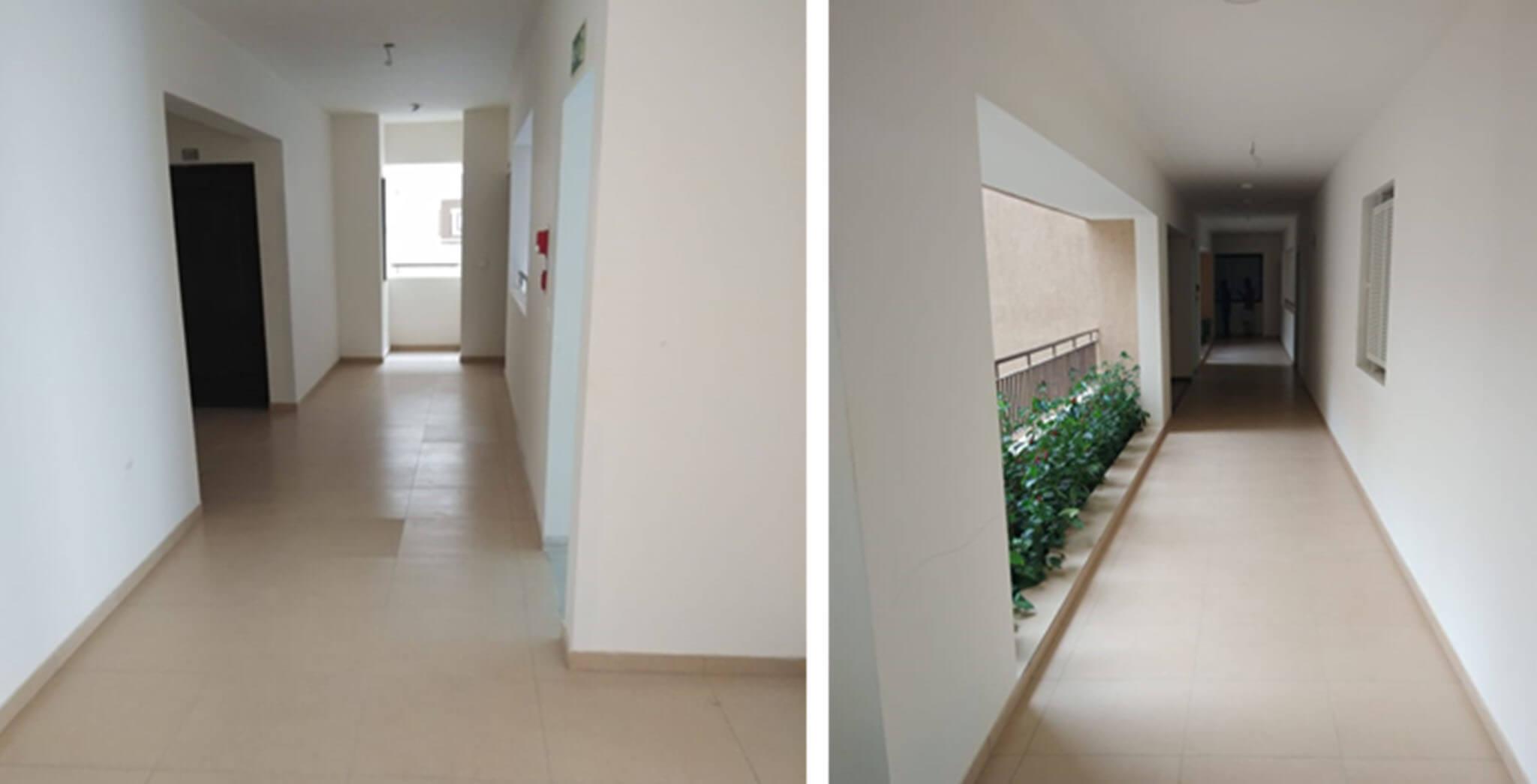 Block A: Corridor