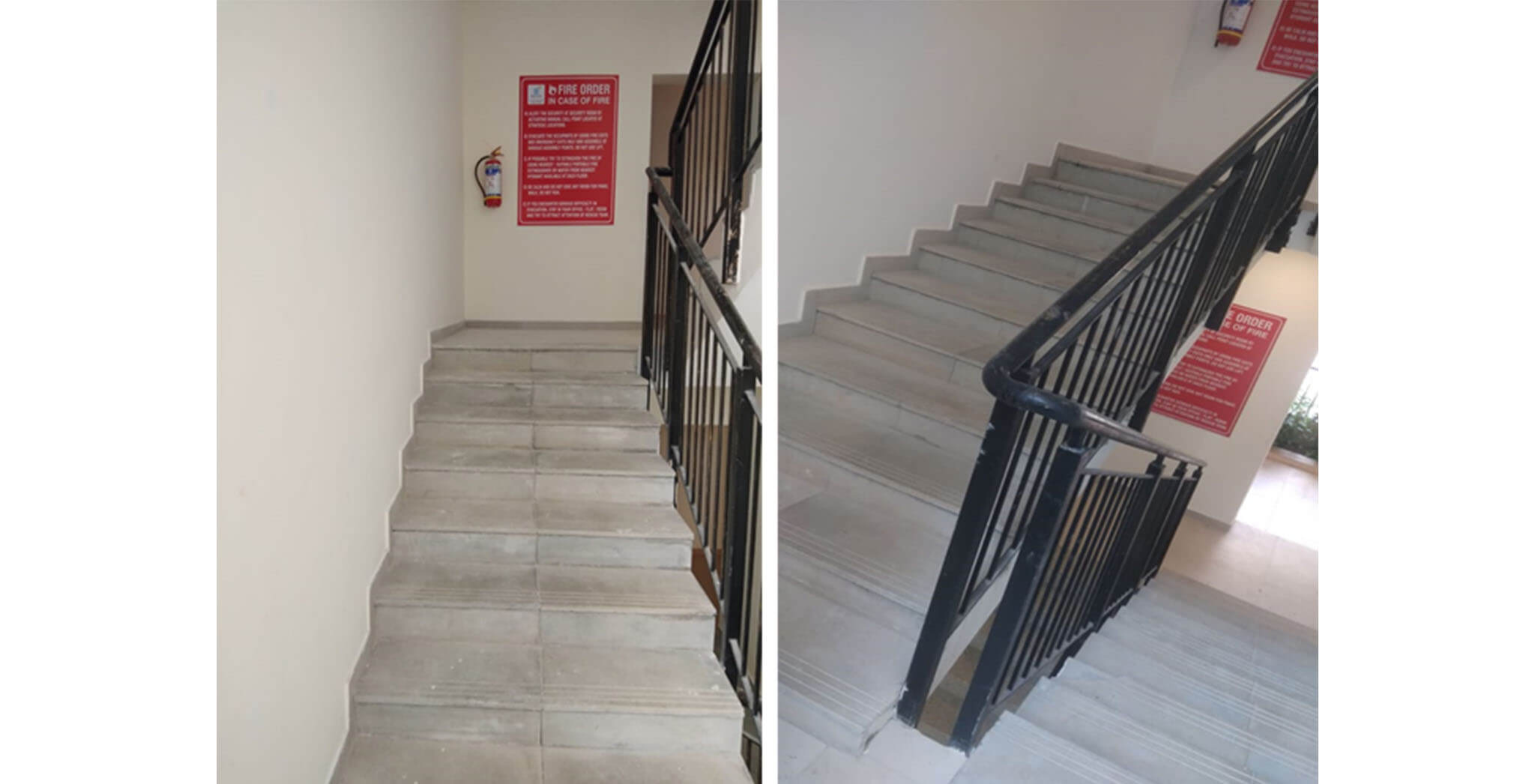 Sep 2020 - Deodar—Block B: Staircase—Final coat of painting in progress
