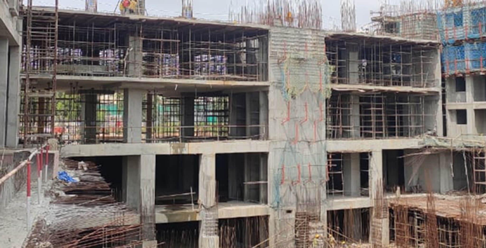 Sep 2020 - Eden: Tower B—3rd Floor structure work-in-progress
