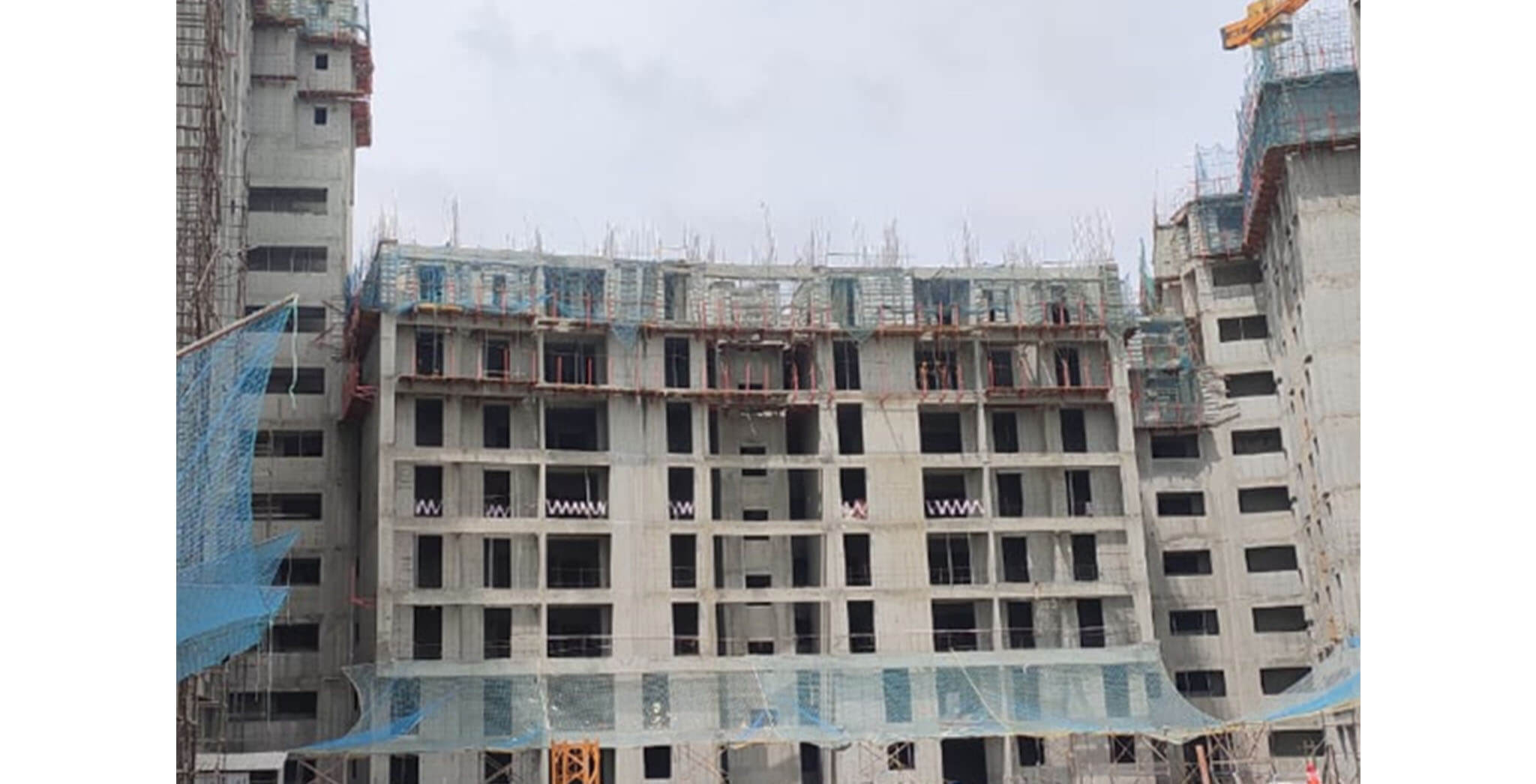 Sep 2020 - Serene: 8th floor structure work-in-progress