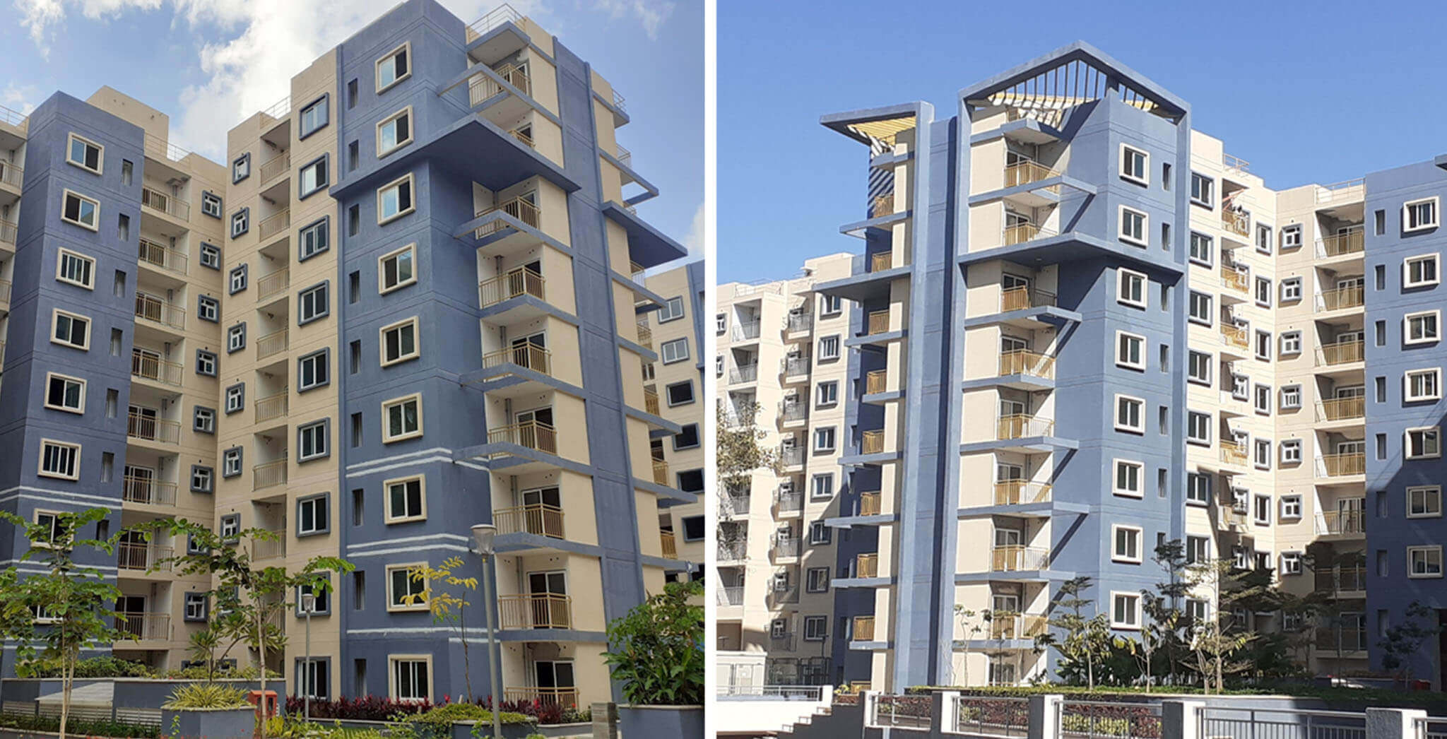 Sep 2020 - Towers C & D: Internal finishing work-in-progress