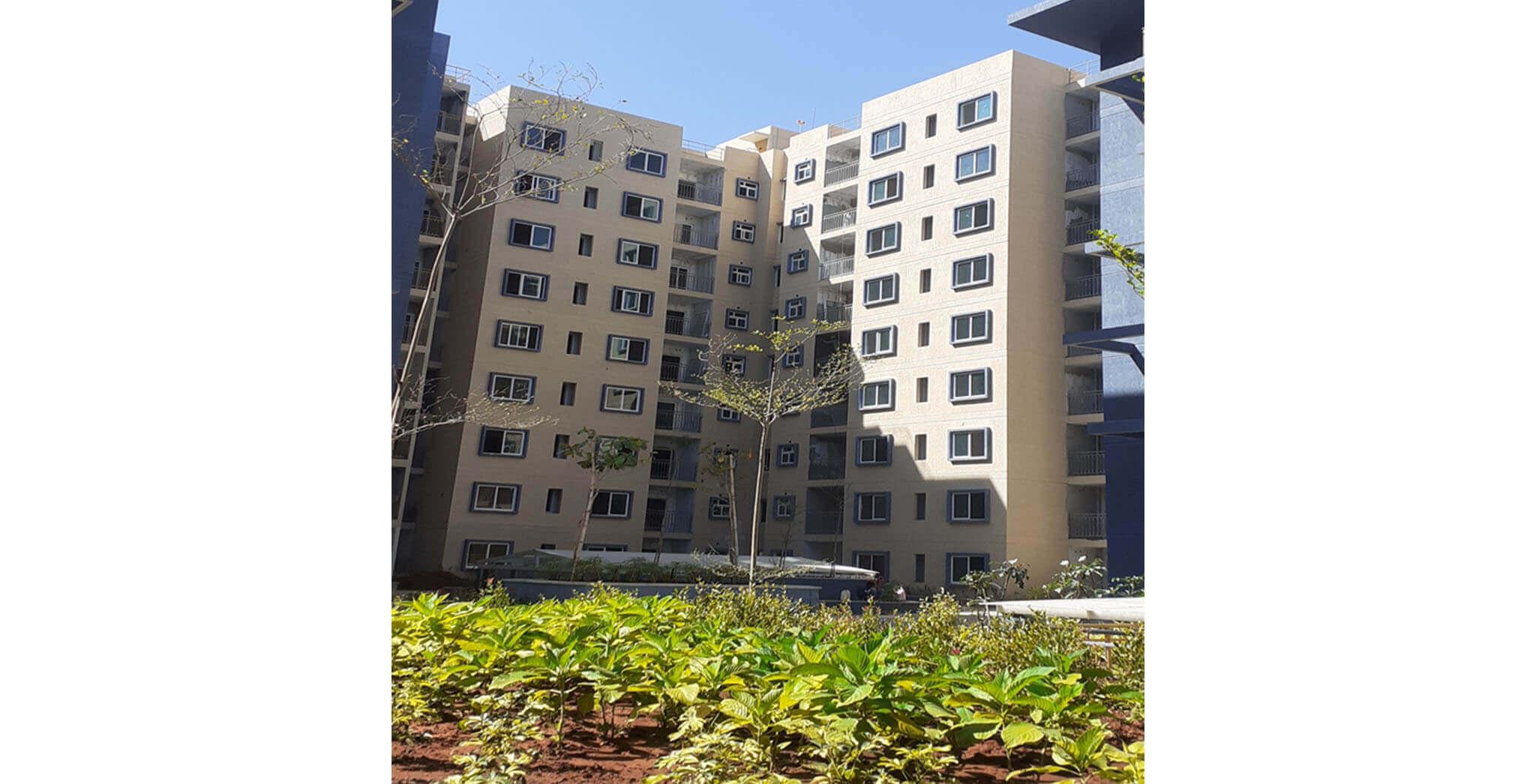 Sep 2020 - Tower E: Internal finishing work-in-progress