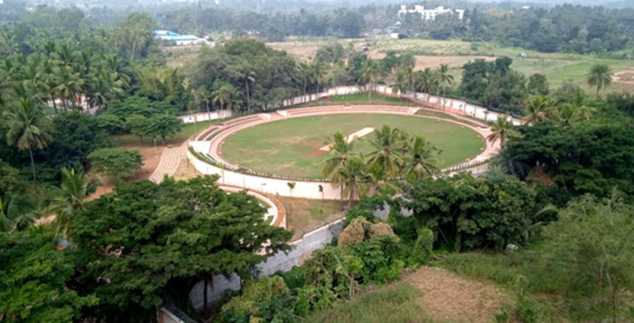 Dec 2020 - Cricket pitch
