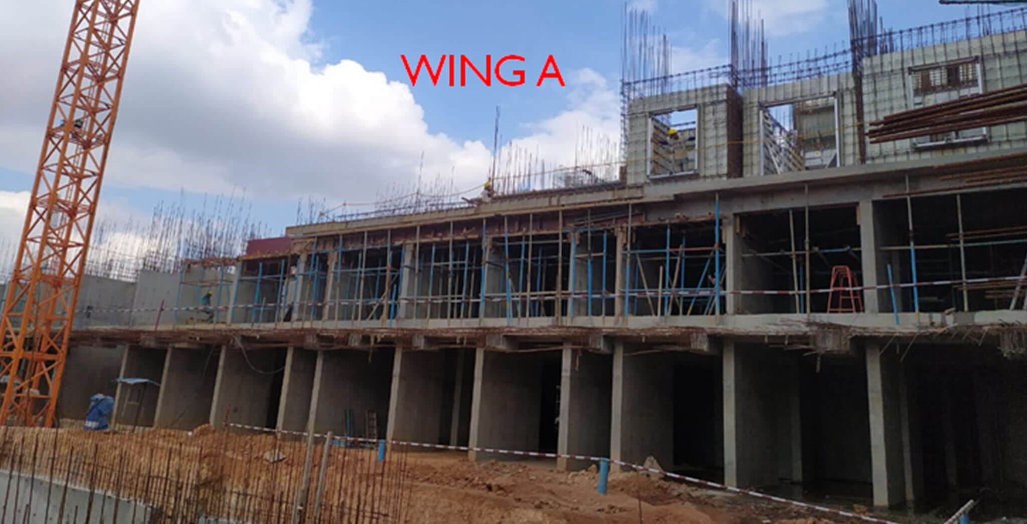 Wing A—Ground floor and 1st floor in progress - Status Images 2