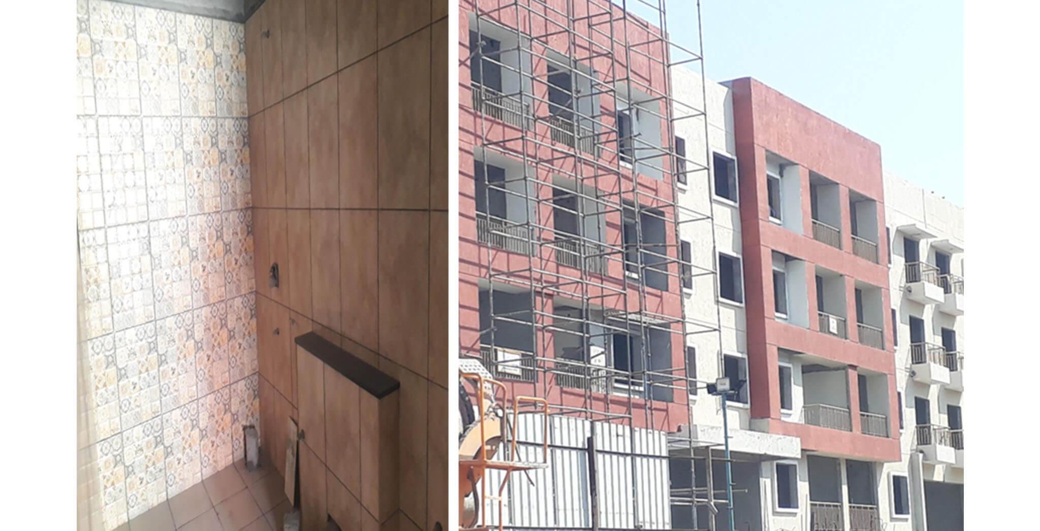 Feb 2021 - N Block: Finishing work-in-progress