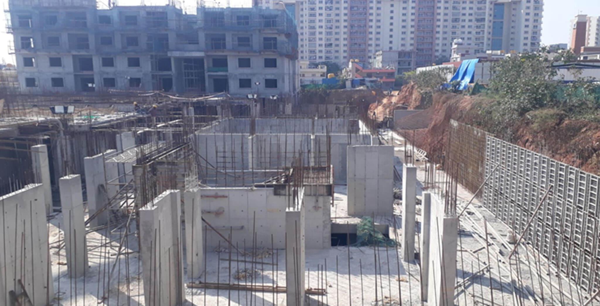 Feb 2021 - C & H Blocks: Basement works in progress