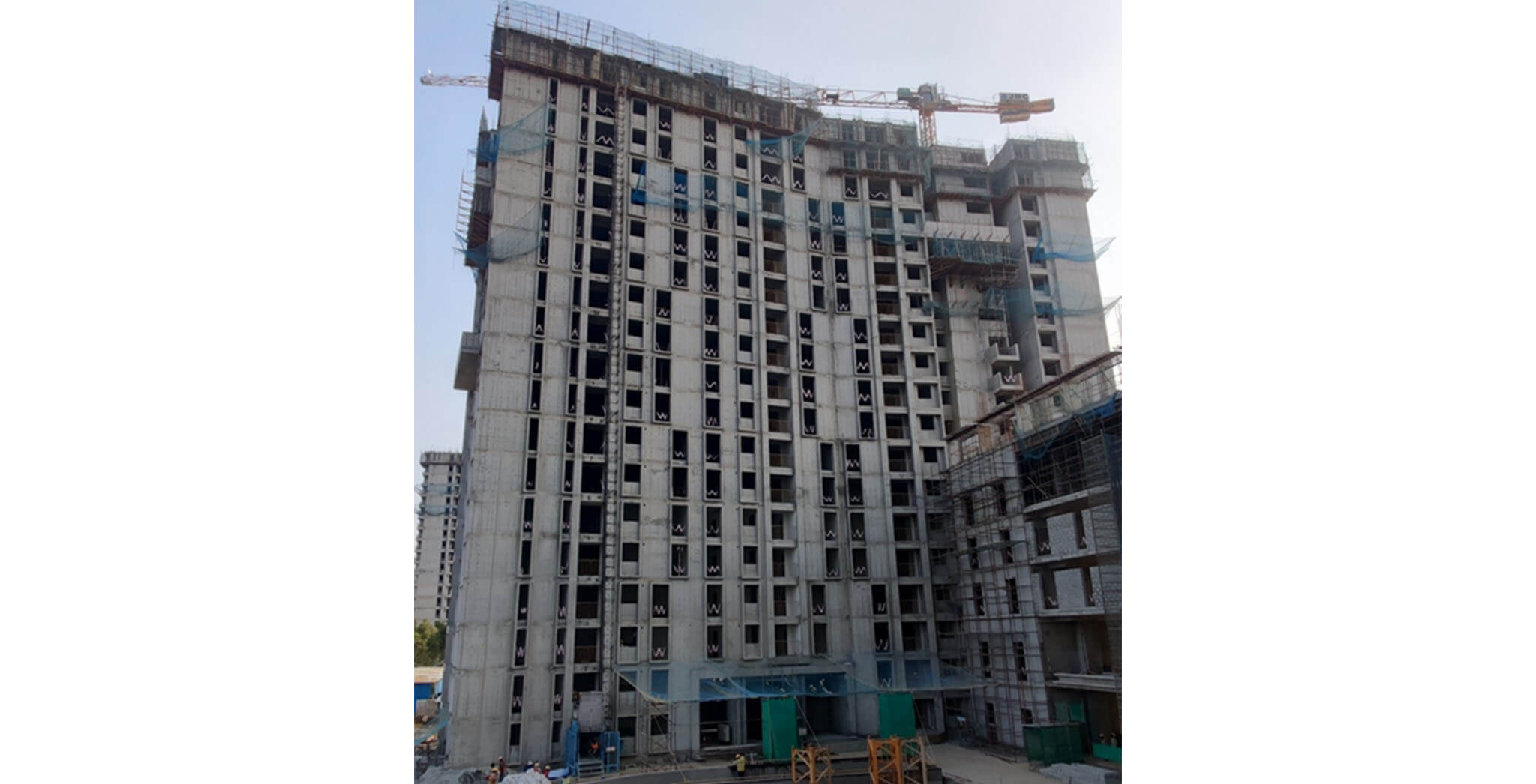 Feb 2021 - Eden: Tower E—20th floor structure work-in-progress