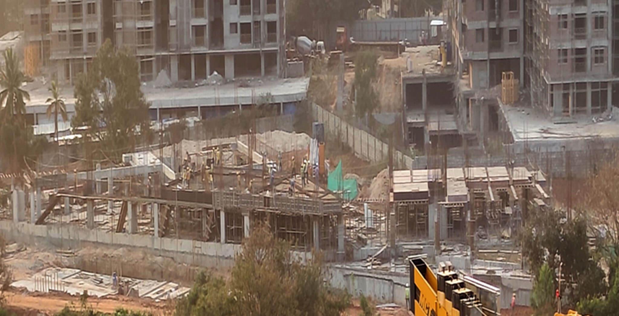 Feb 2021 - Oasis: First floor structure work-in-progress