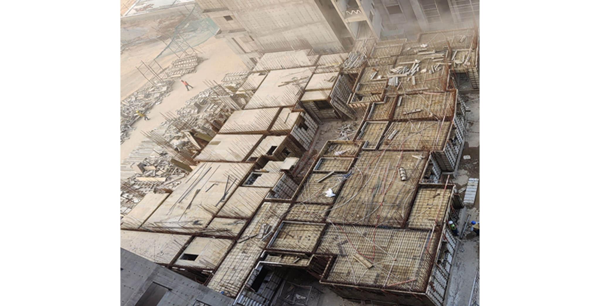 Feb 2021 - Serene: First floor slab structure work-in-progress
