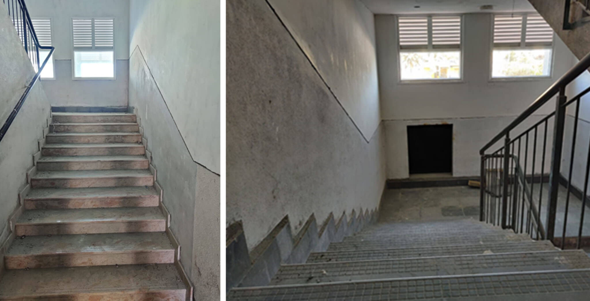 Feb 2021 - Staircase area: Painting work