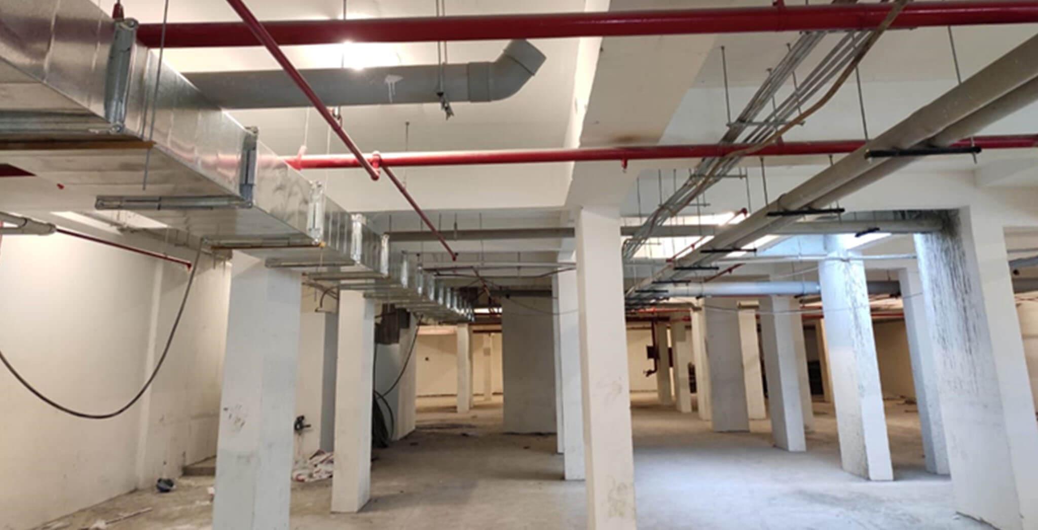 Feb 2021 - Basement VDF & MEP works completed