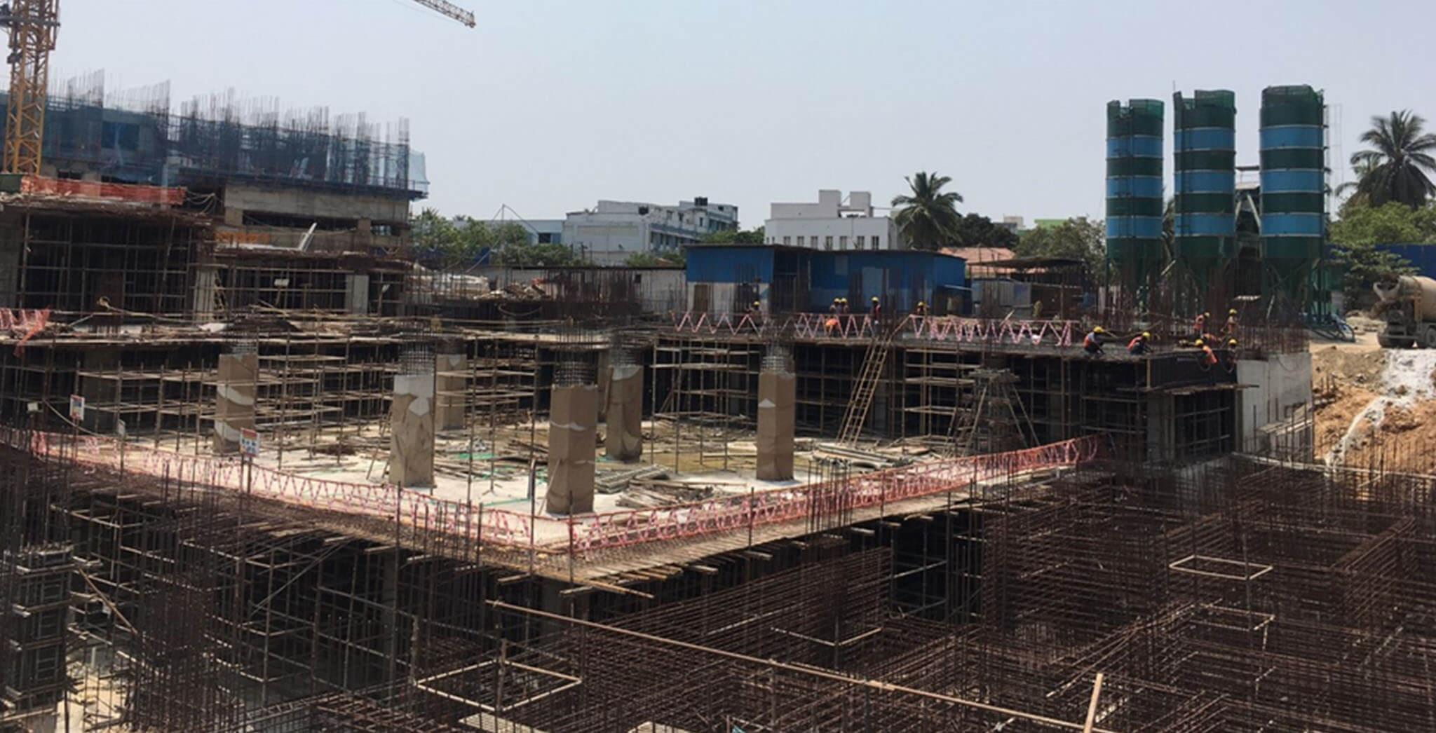 Mar 2021 - Non Tower: Basement 1 level slab work-in-progress