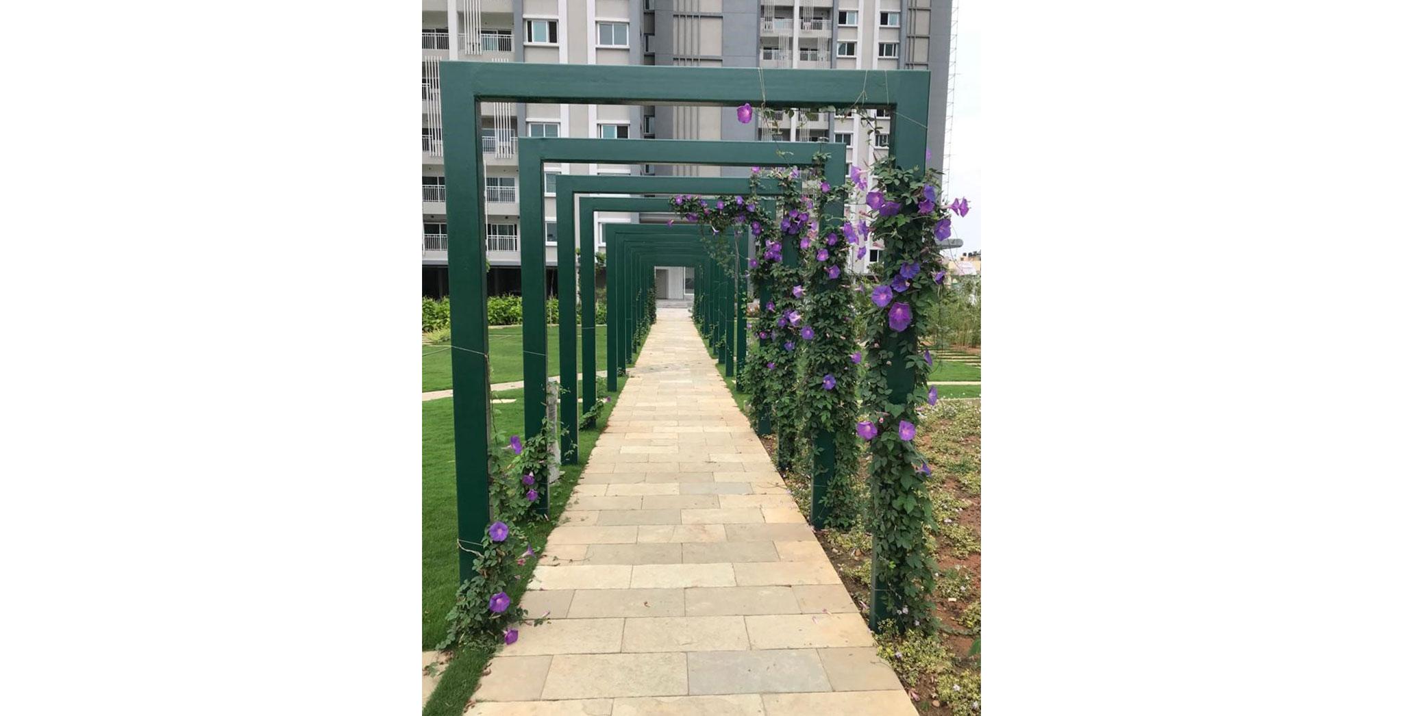 Apr 2021 - Stone pathway