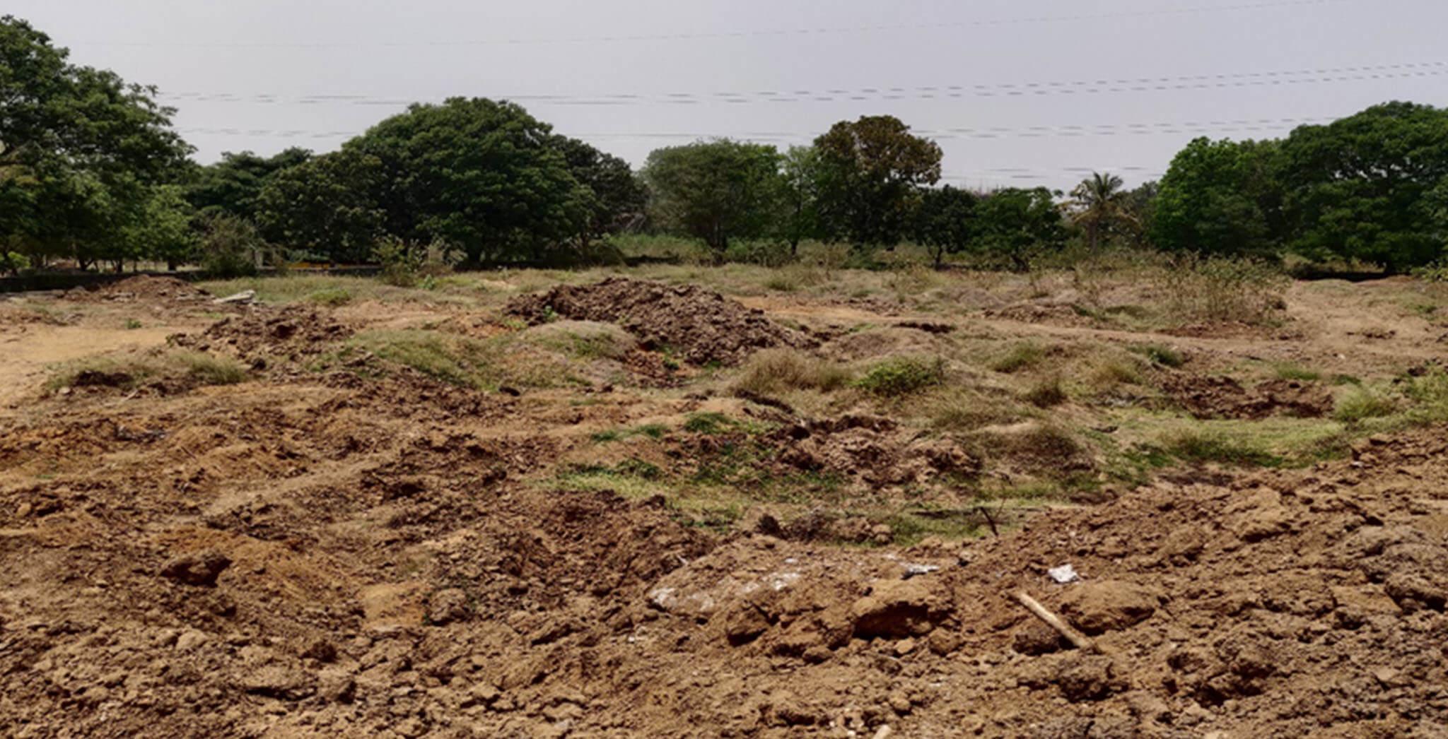 Apr 2021 - Blocks M, N, P, Q, and R—Mass excavation is in progress