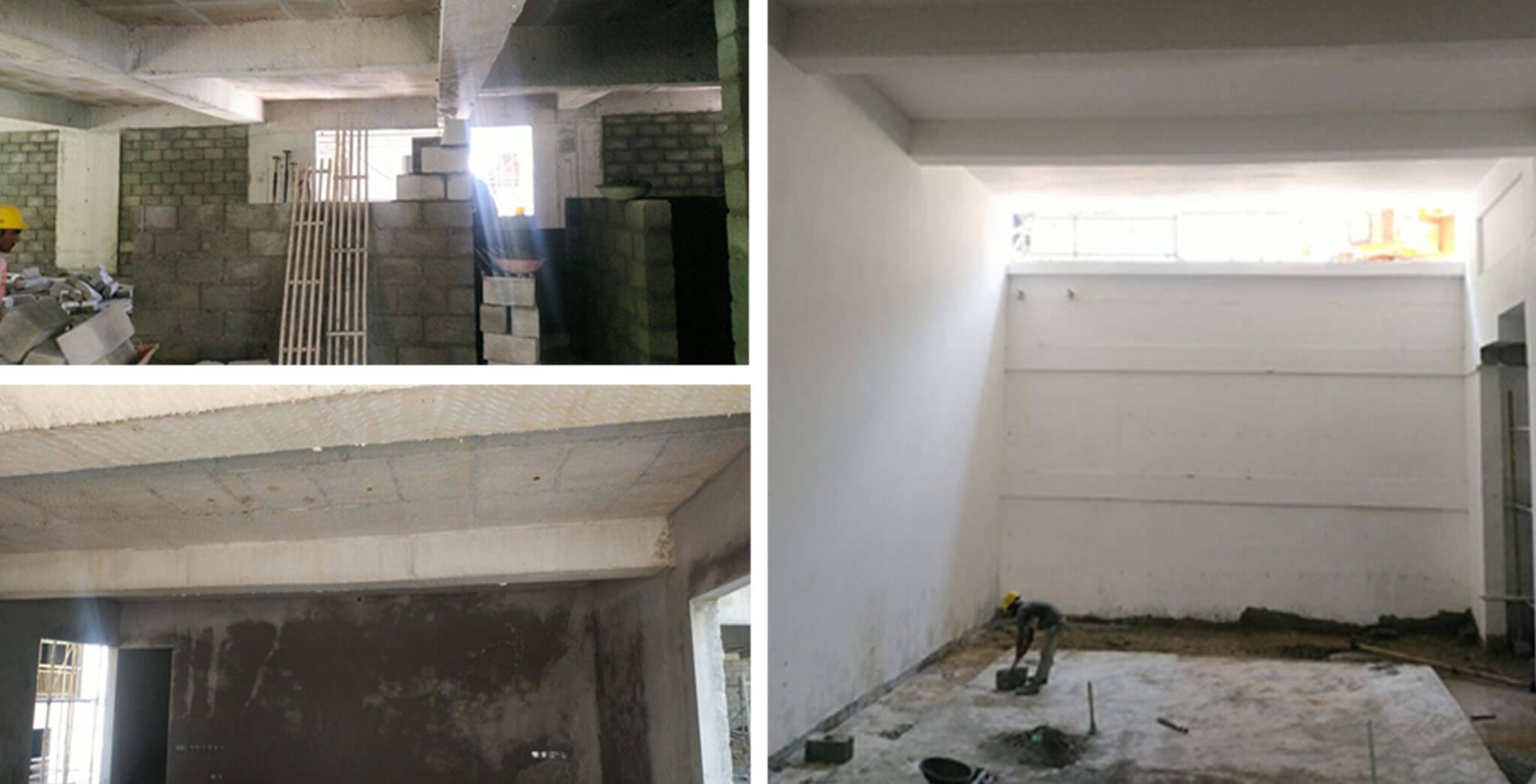May 2021 - Clubhouse: Reinforcement work-in-progress for connecting slab between club and H block; 2nd floor block work, and Ground floor internal plastering work-in-progress; DG yard painting works, and North elevation external plastering work commenced.
