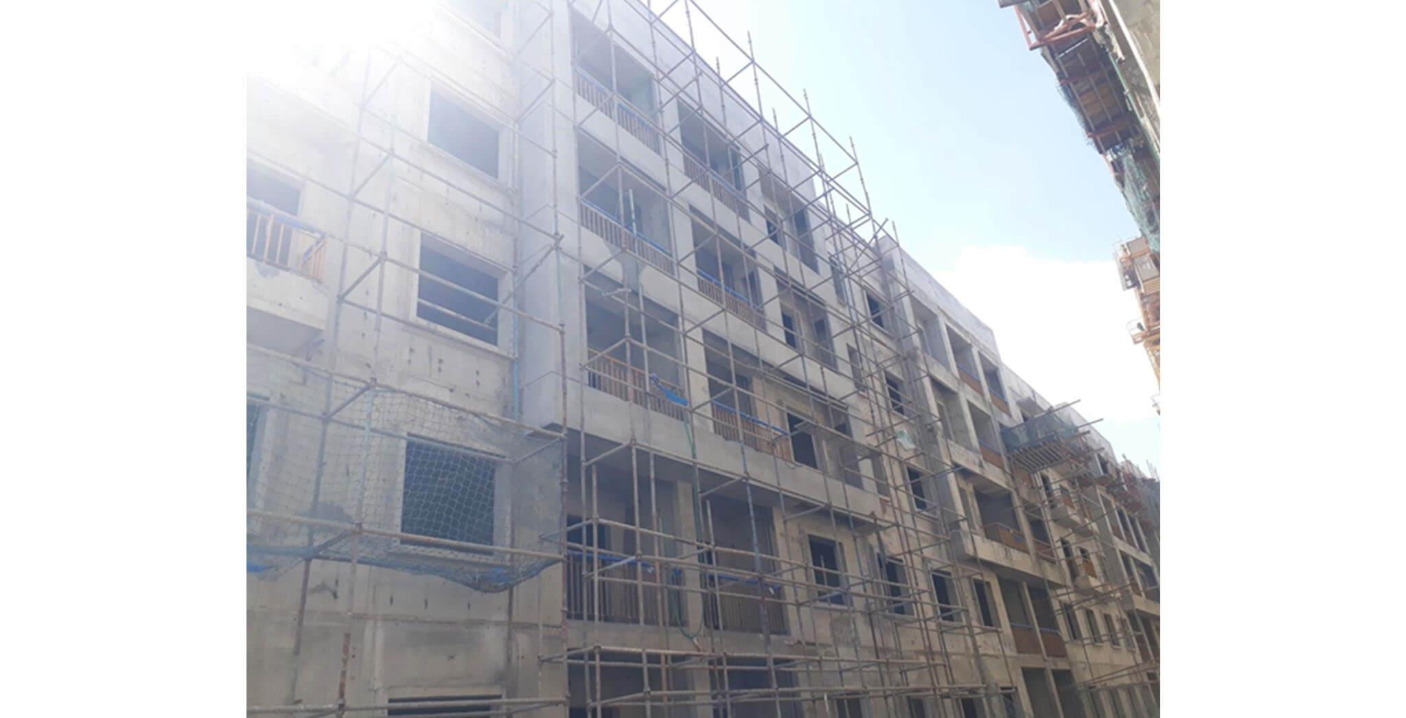 May 2021 - G Block: Finishing work-in-progress