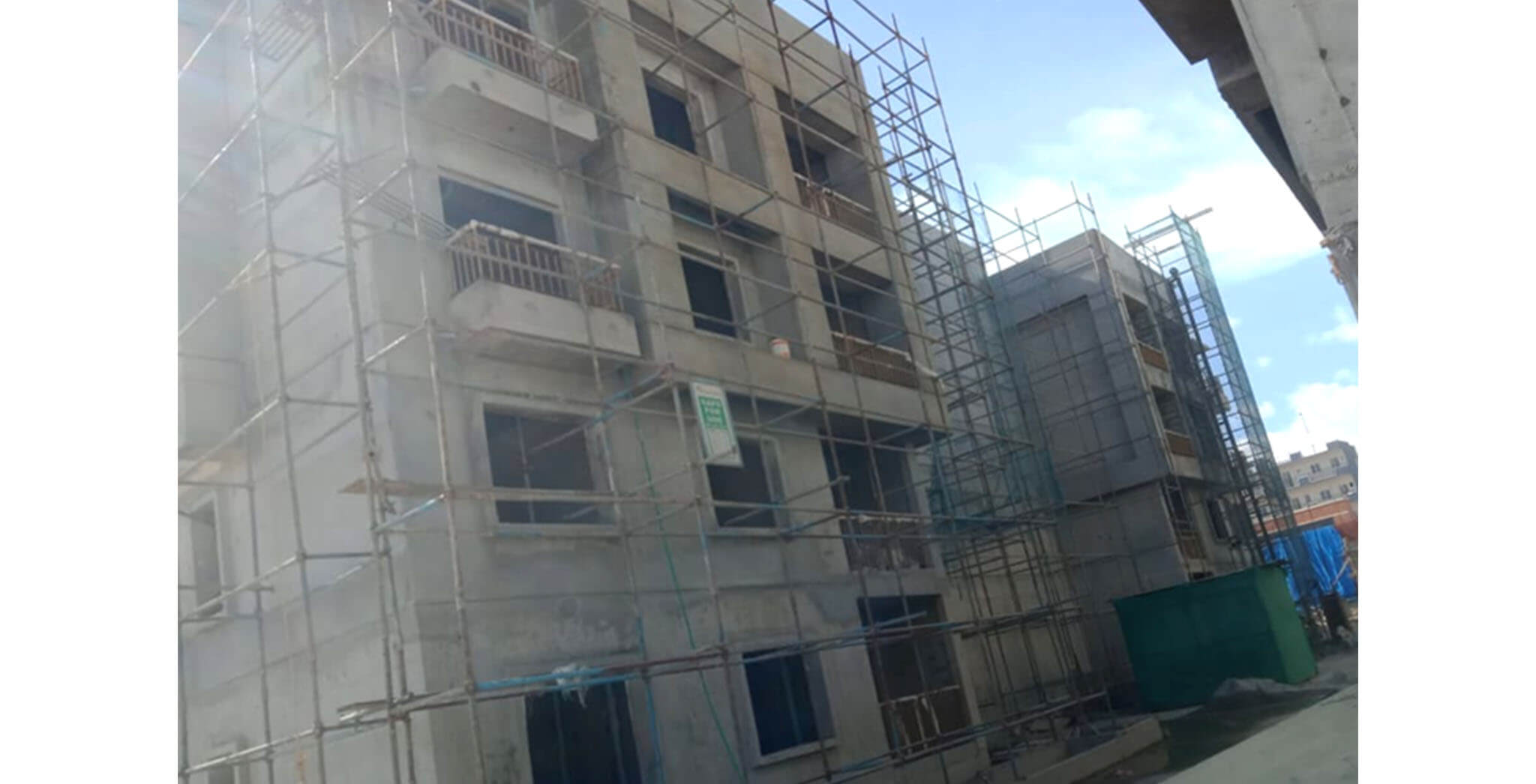 May 2021 - A Block: Finishing work-in-progress