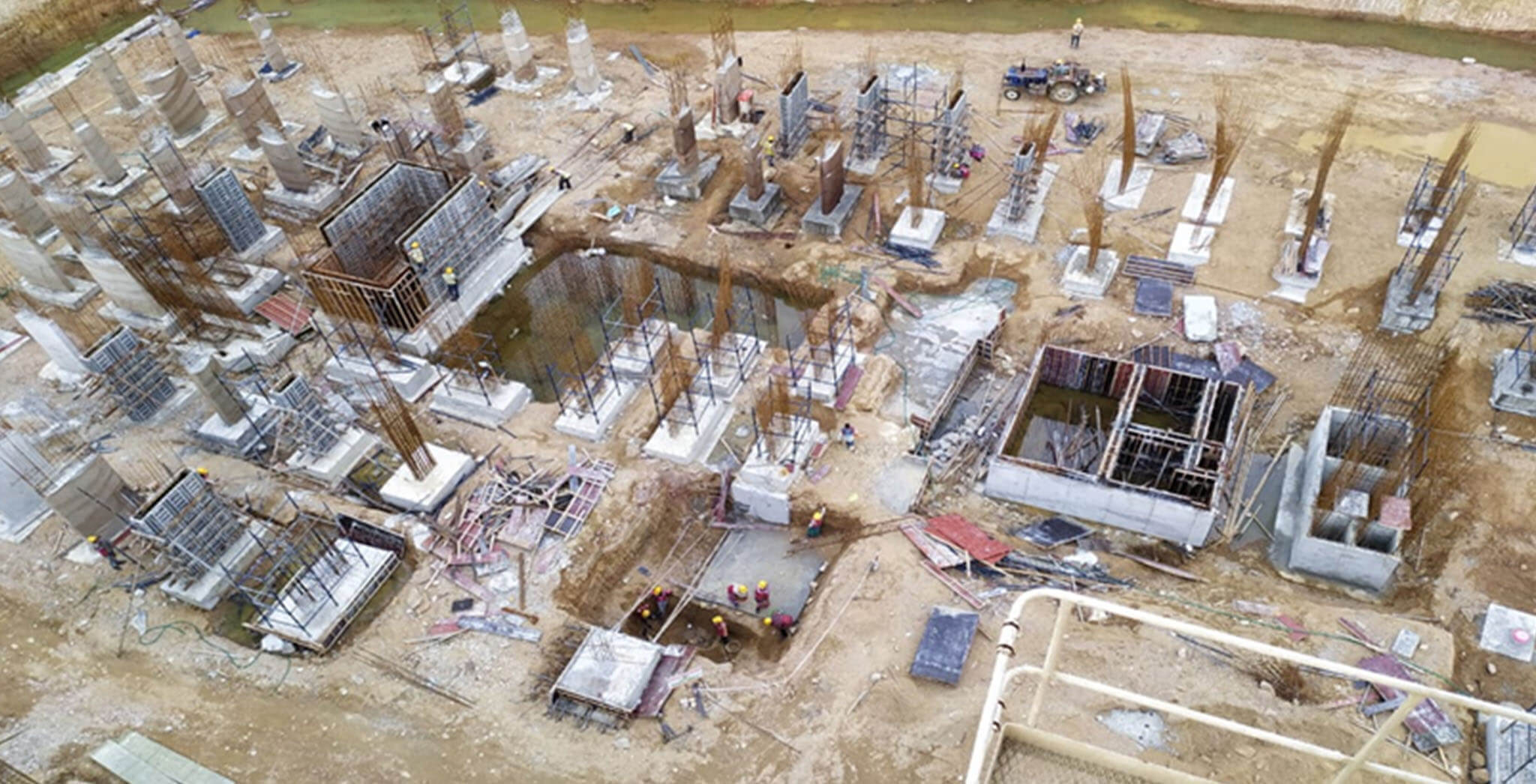 Jun 2021 - Block C: 75% Footings and 45% column completed