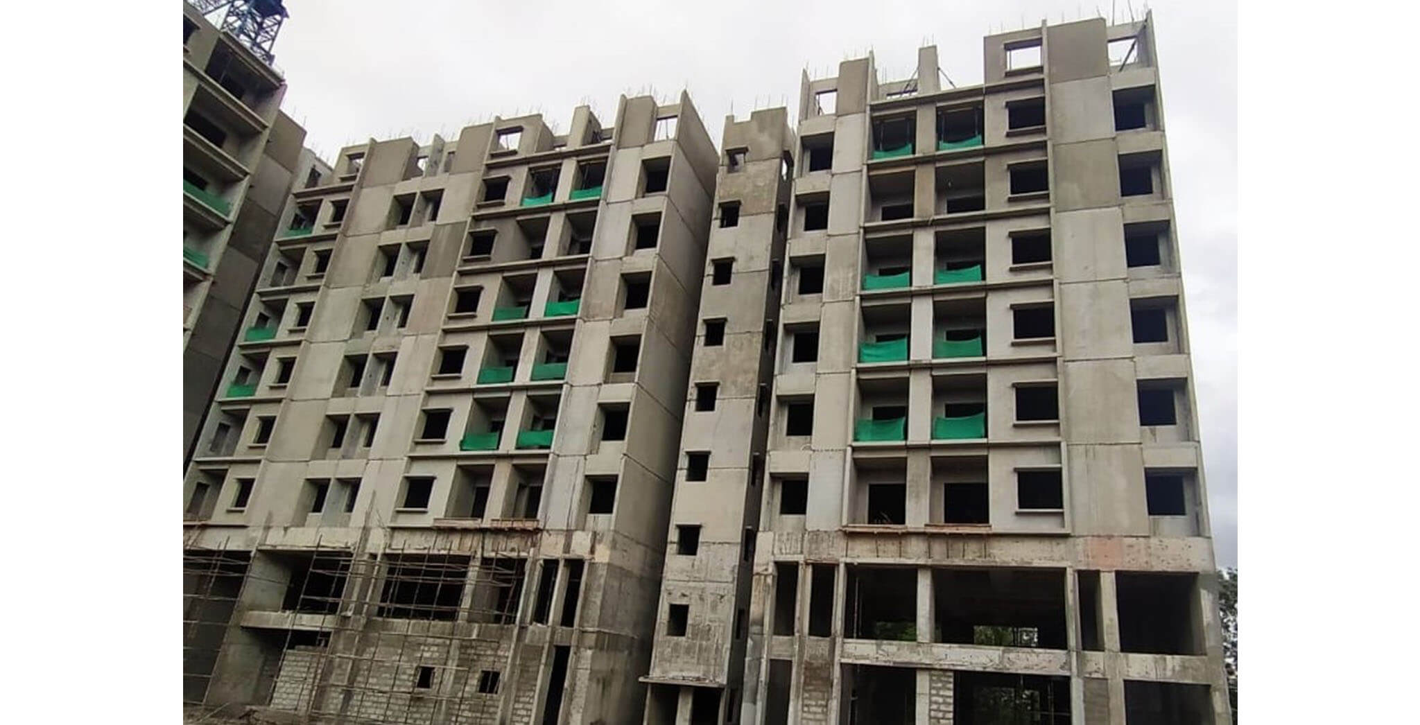Jun 2021 - B-wing: On commencement of seventh floor slab