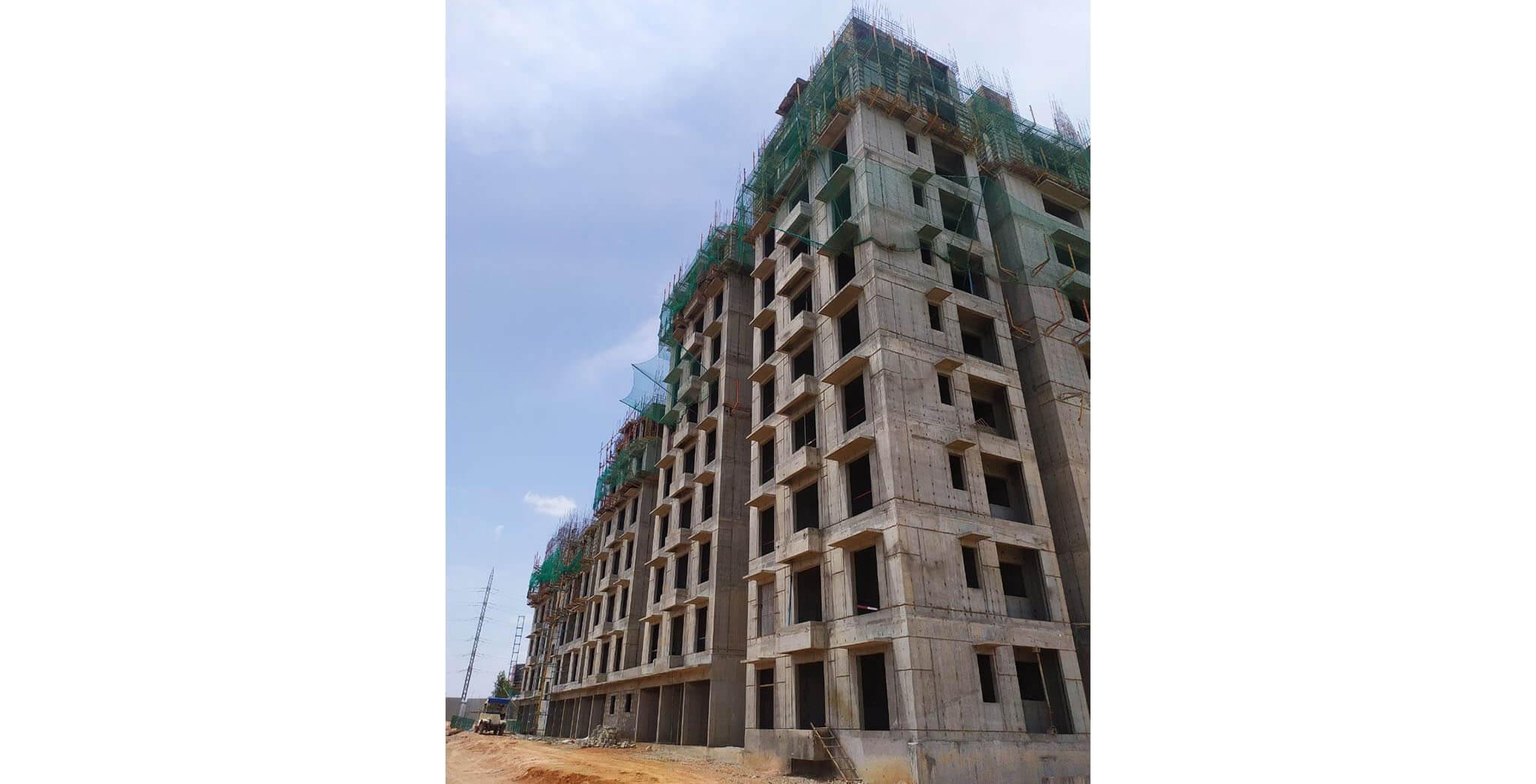 Jun 2021 - Helio: Wing C—On commencement of seventh floor slab