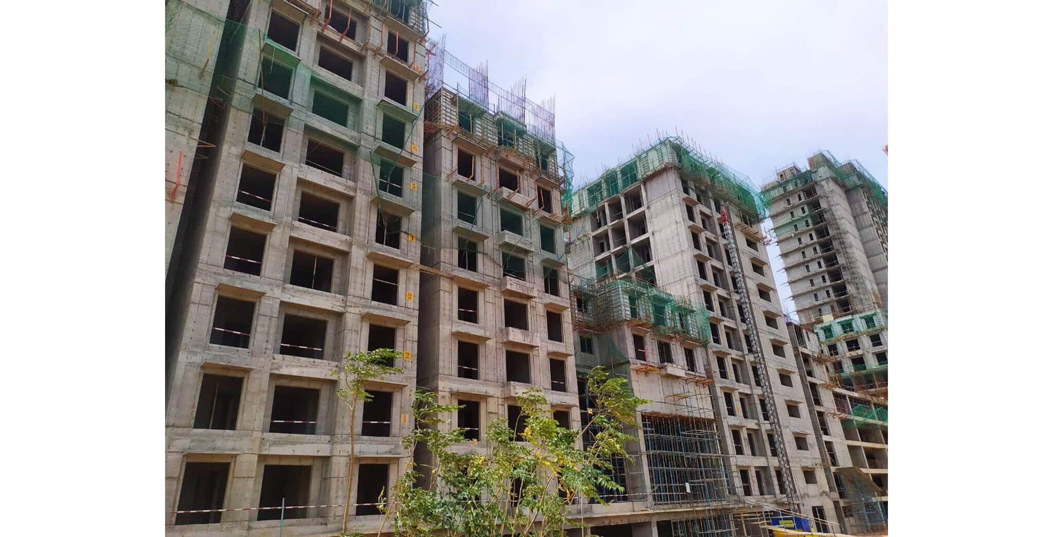 Jun 2021 - Helio: Wing B—On commencement of tenth floor slab