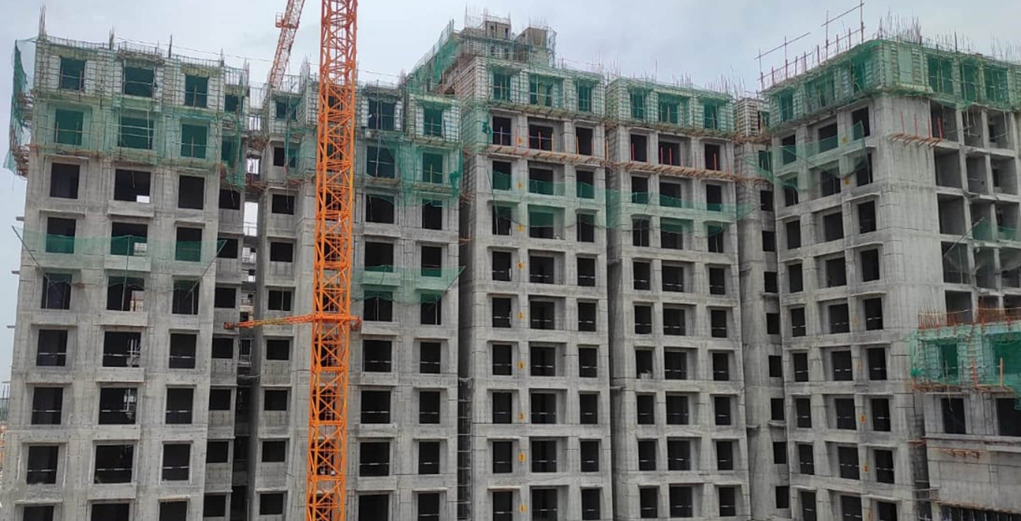 Jun 2021 - Helio: Wing A—On commencement of tenth floor slab