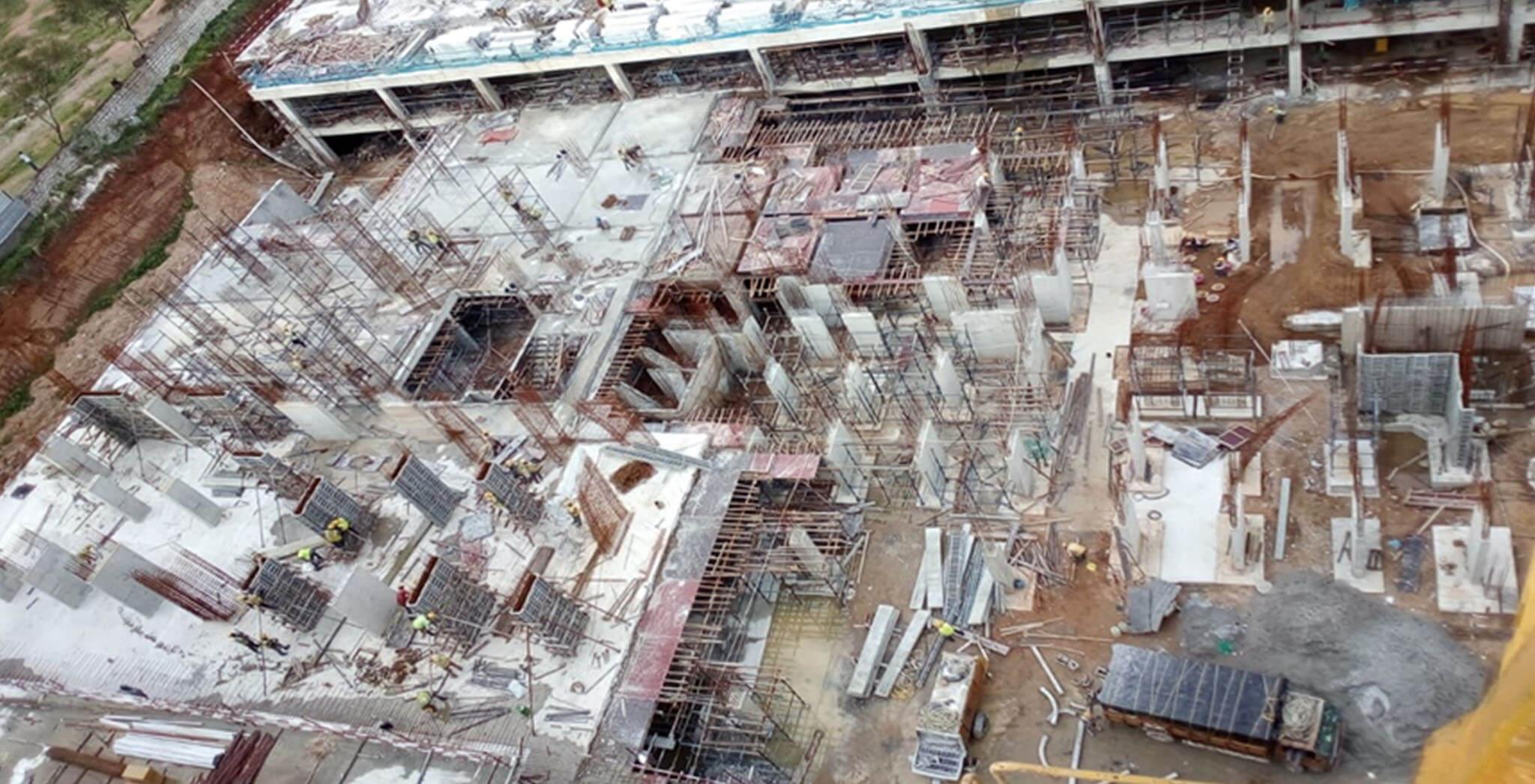 Jun 2021 - Block A2: Lower basement slab 30% concrete works complete