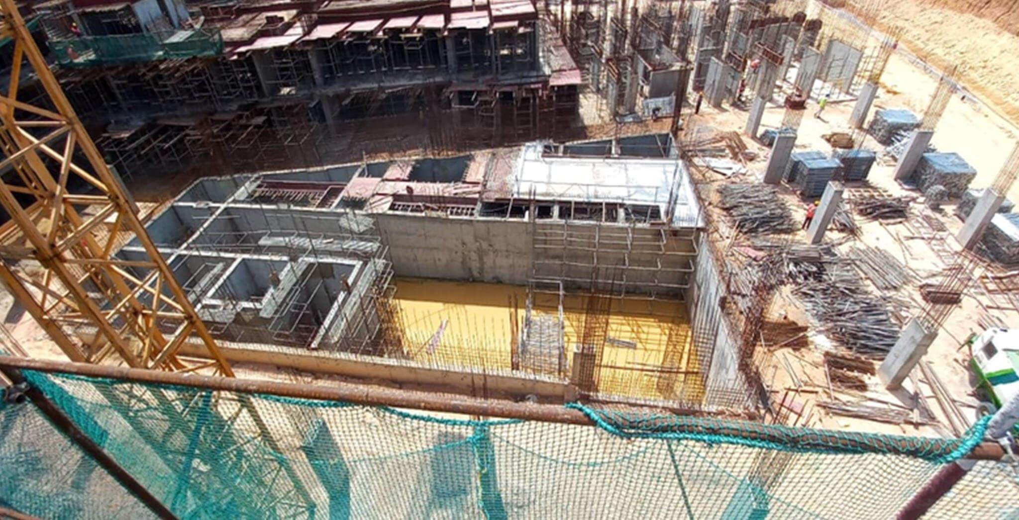 Jun 2021 - Jasper Block: Sewage treatment plant