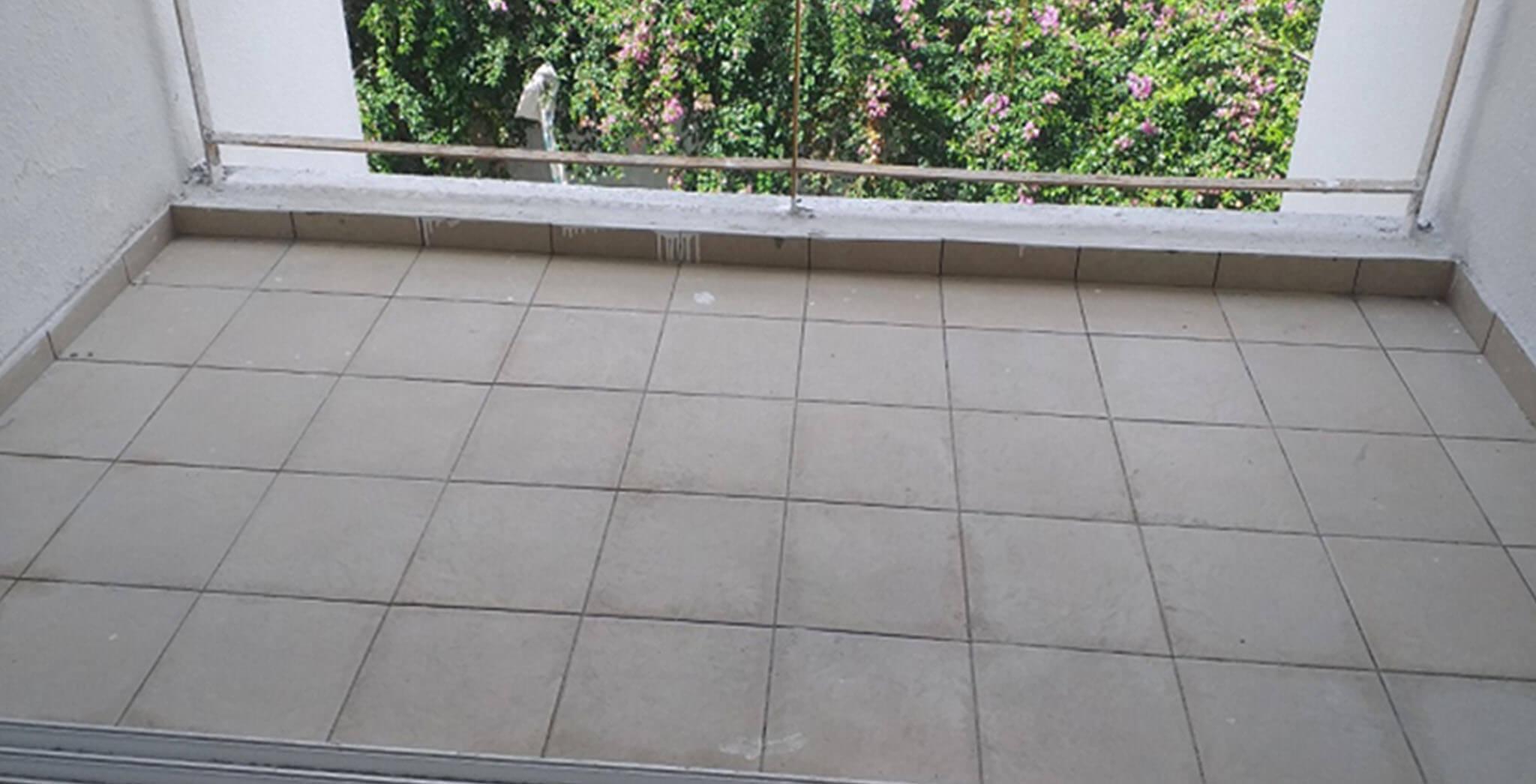 Jun 2021 - Blocks J, K, L, M, N and P: Balcony tiling work-in-progress