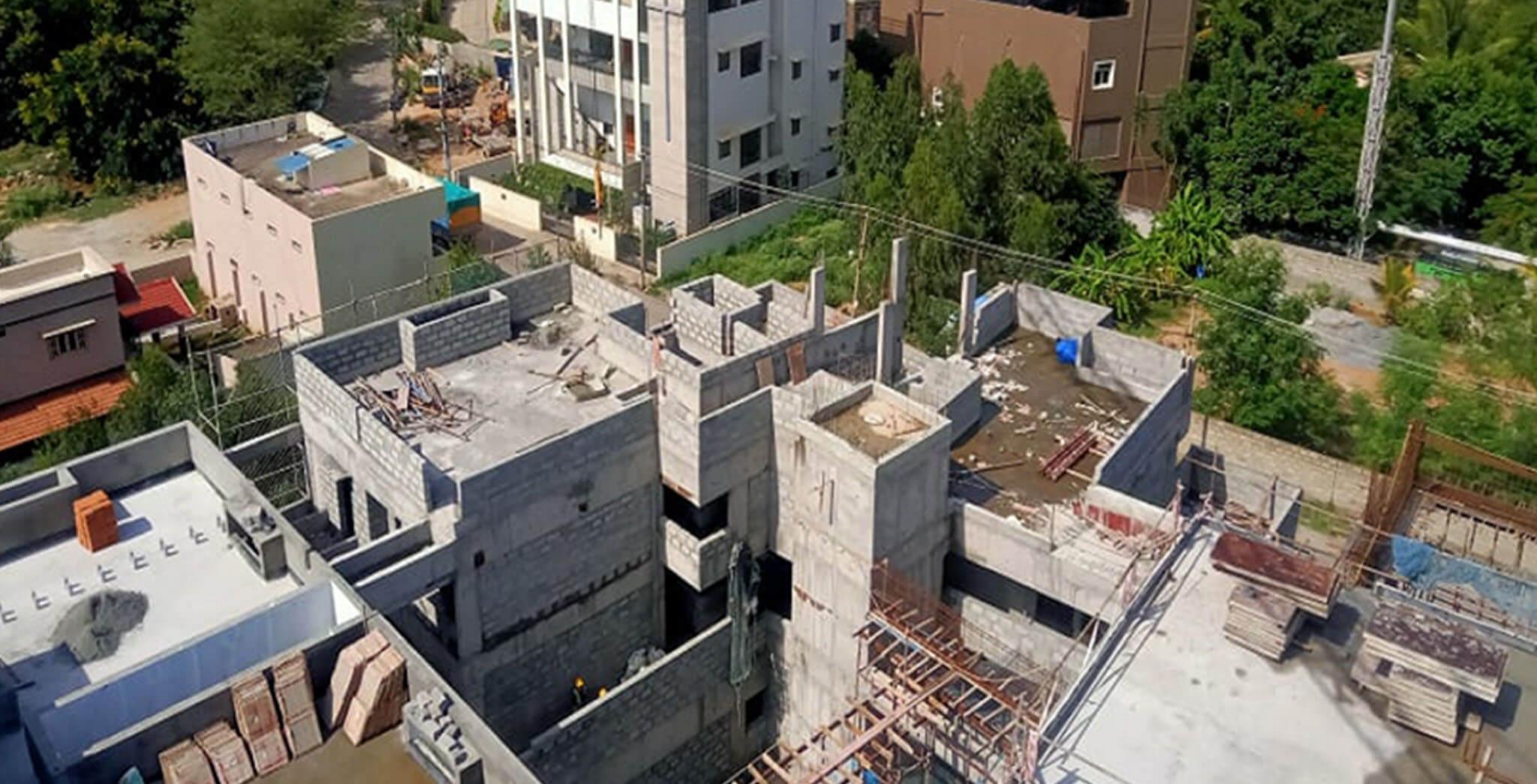 Jun 2021 - Block B: Above terrace work-in-progress
