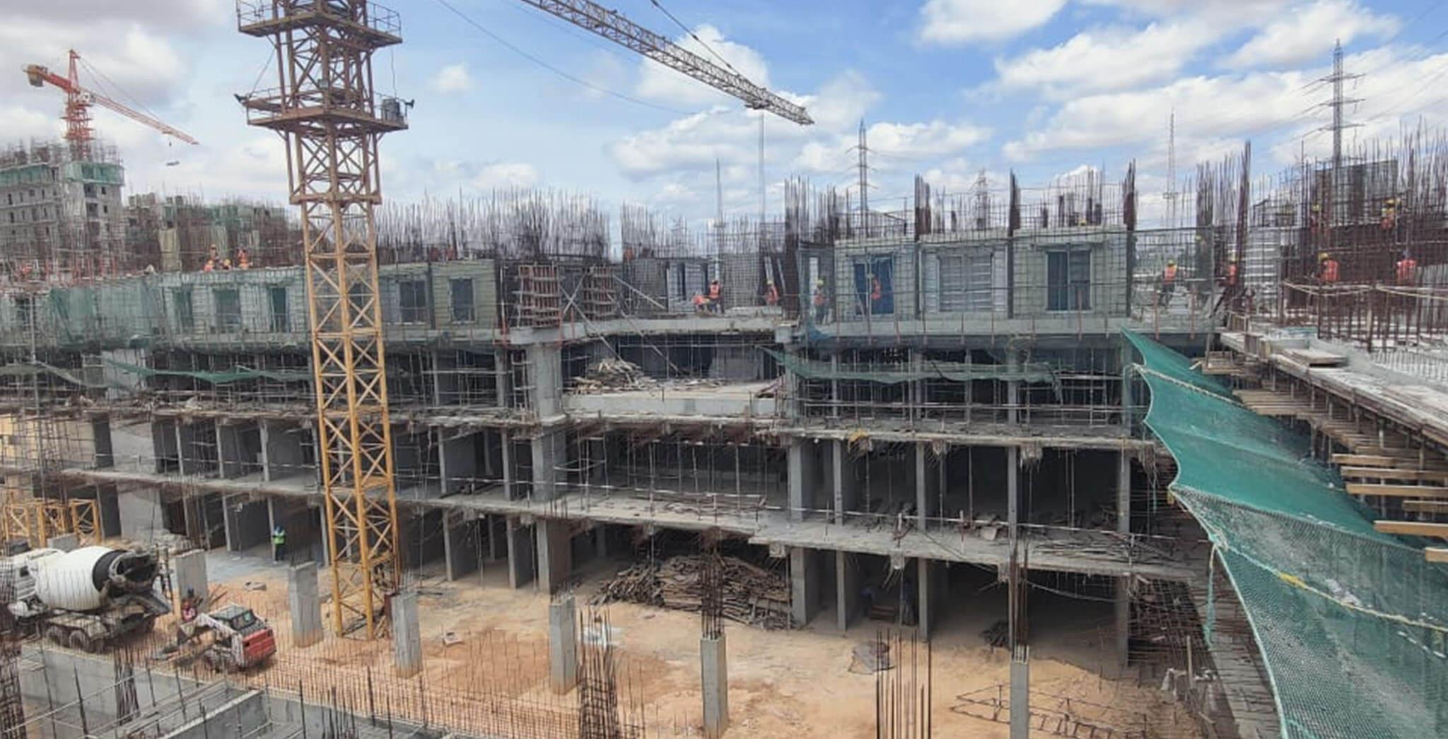Jun 2021 - Jasper Block: Wing A—On Commencement of first floor slab