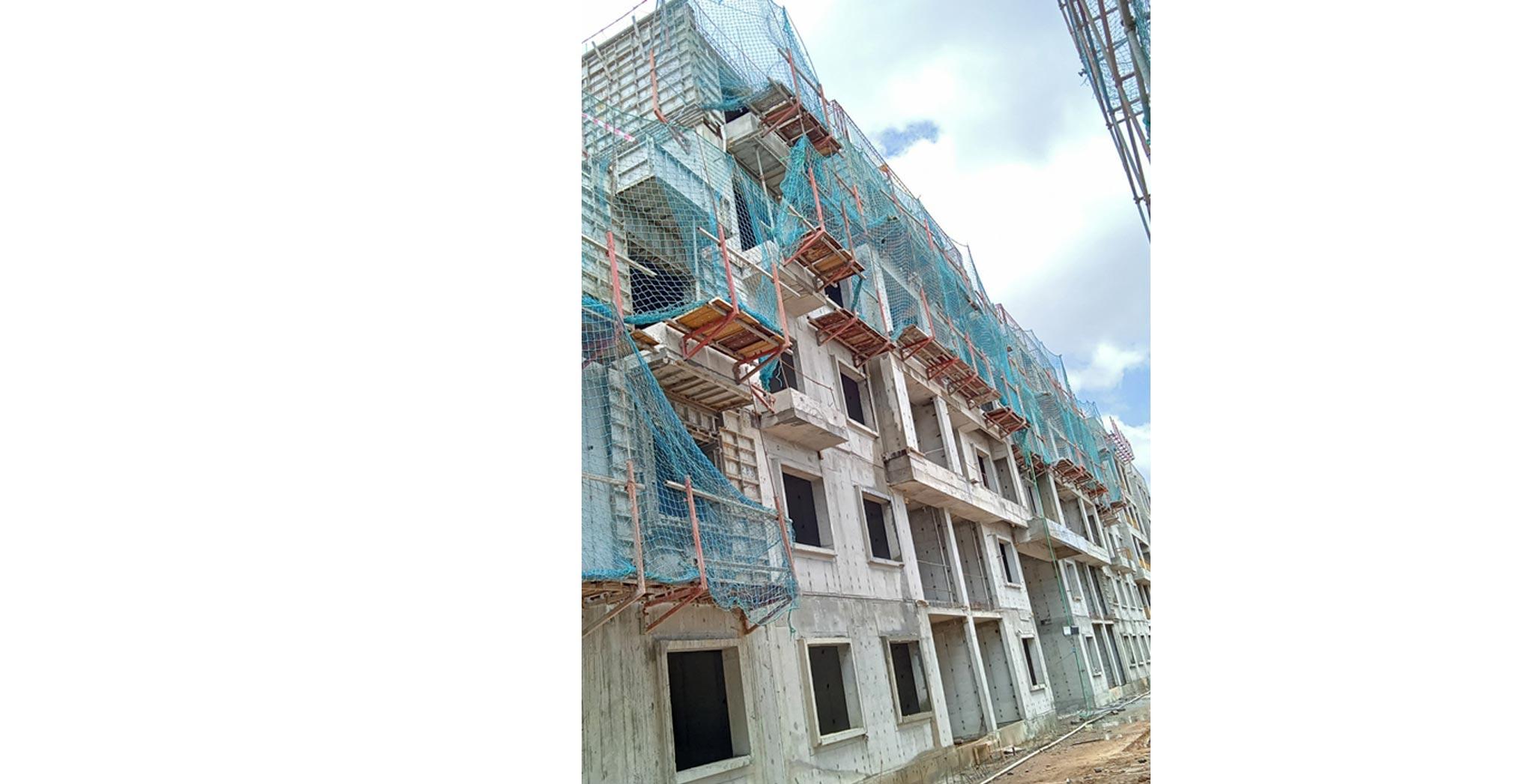 Jul 2021 - D Block - Casting of Terrace slab