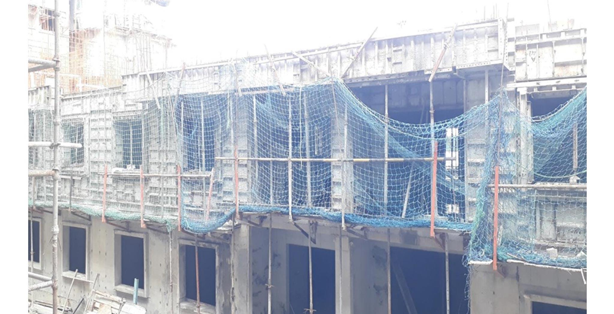 Jul 2021 - J block - Second floor slab completed