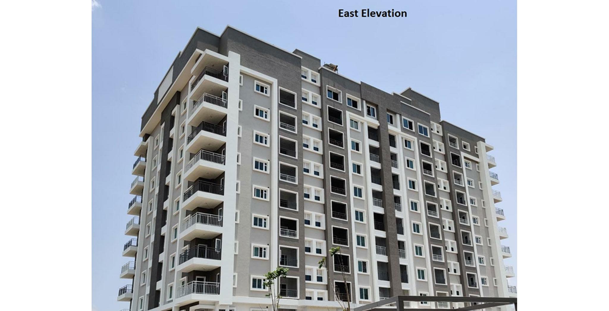 Jul 2021 - East side elevation