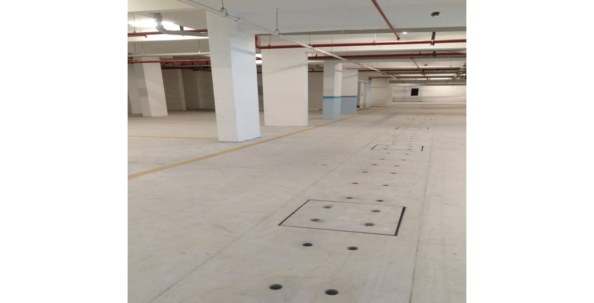 Jul 2021 - Basement VDF, MEP works & car park marking completed