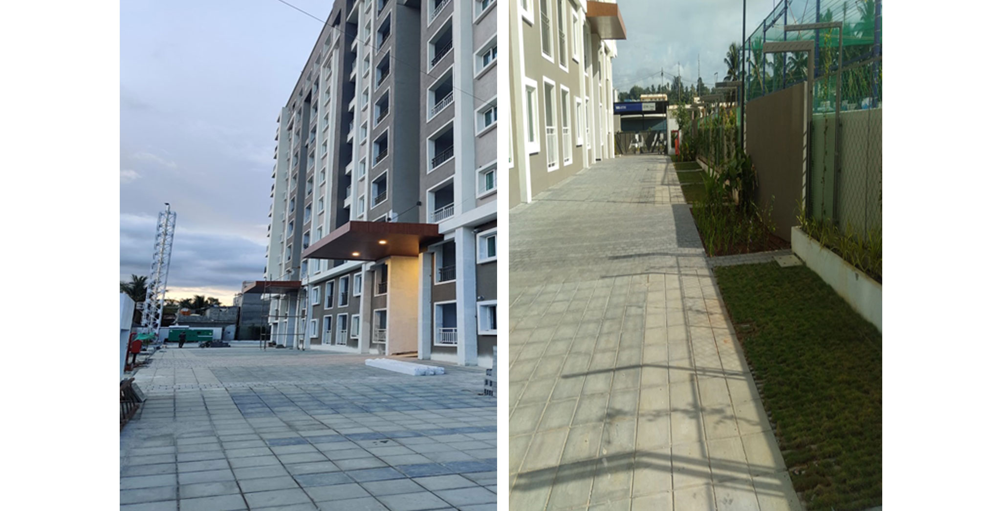 Jul 2021 - External Development: Drive way and  plantation is completed