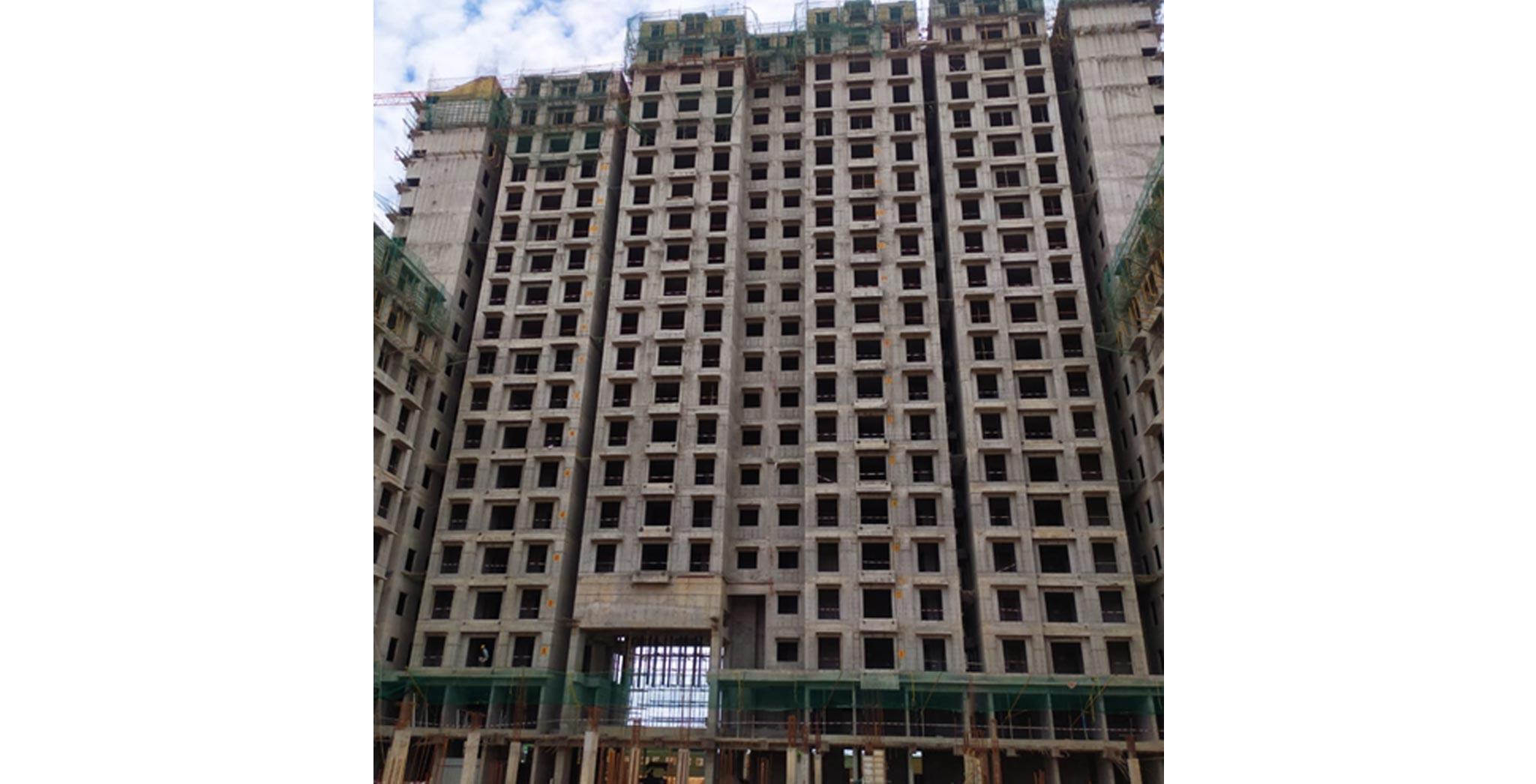 Aug 2021 - Gallium Block: On Commencement of eighteenth floor slab