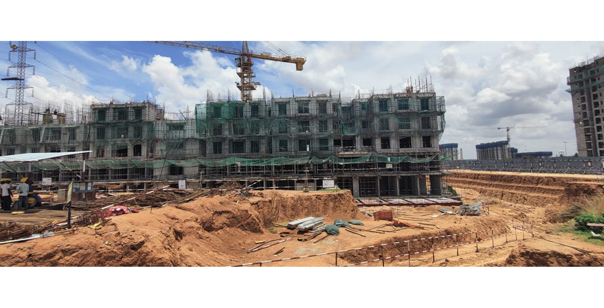 Aug 2021 - Jasper Block: Wing A - On commencement of third floor slab